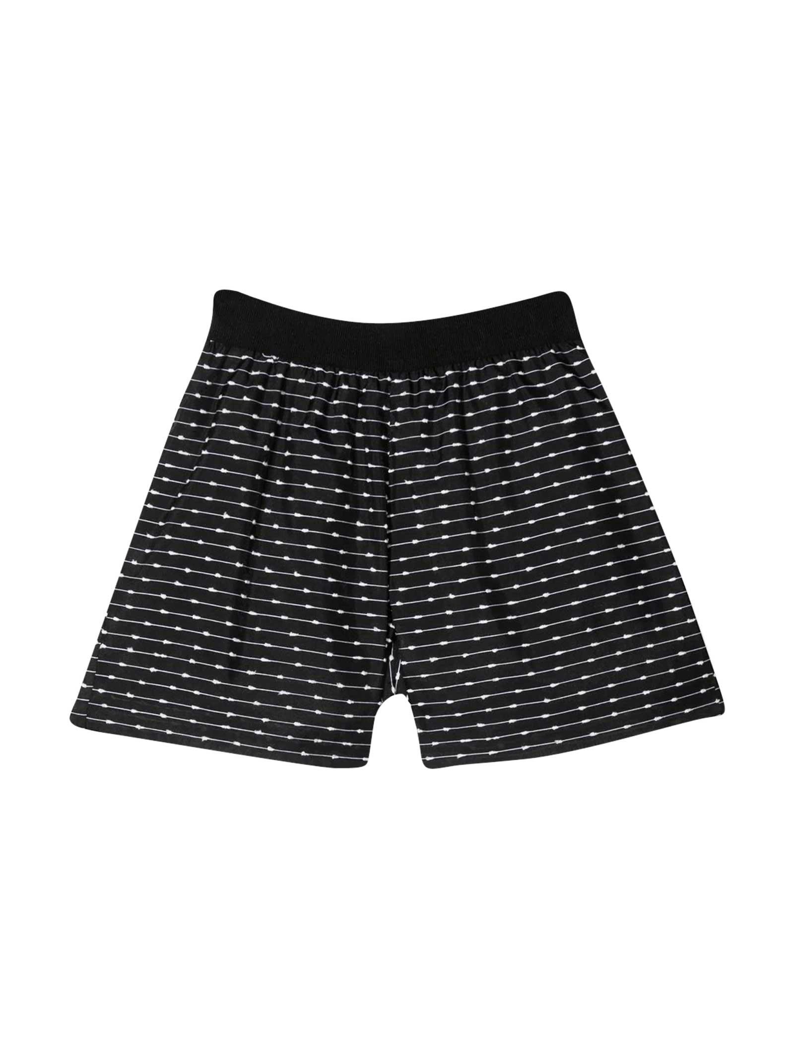 Black Shorts Mi Mi Sol Kids