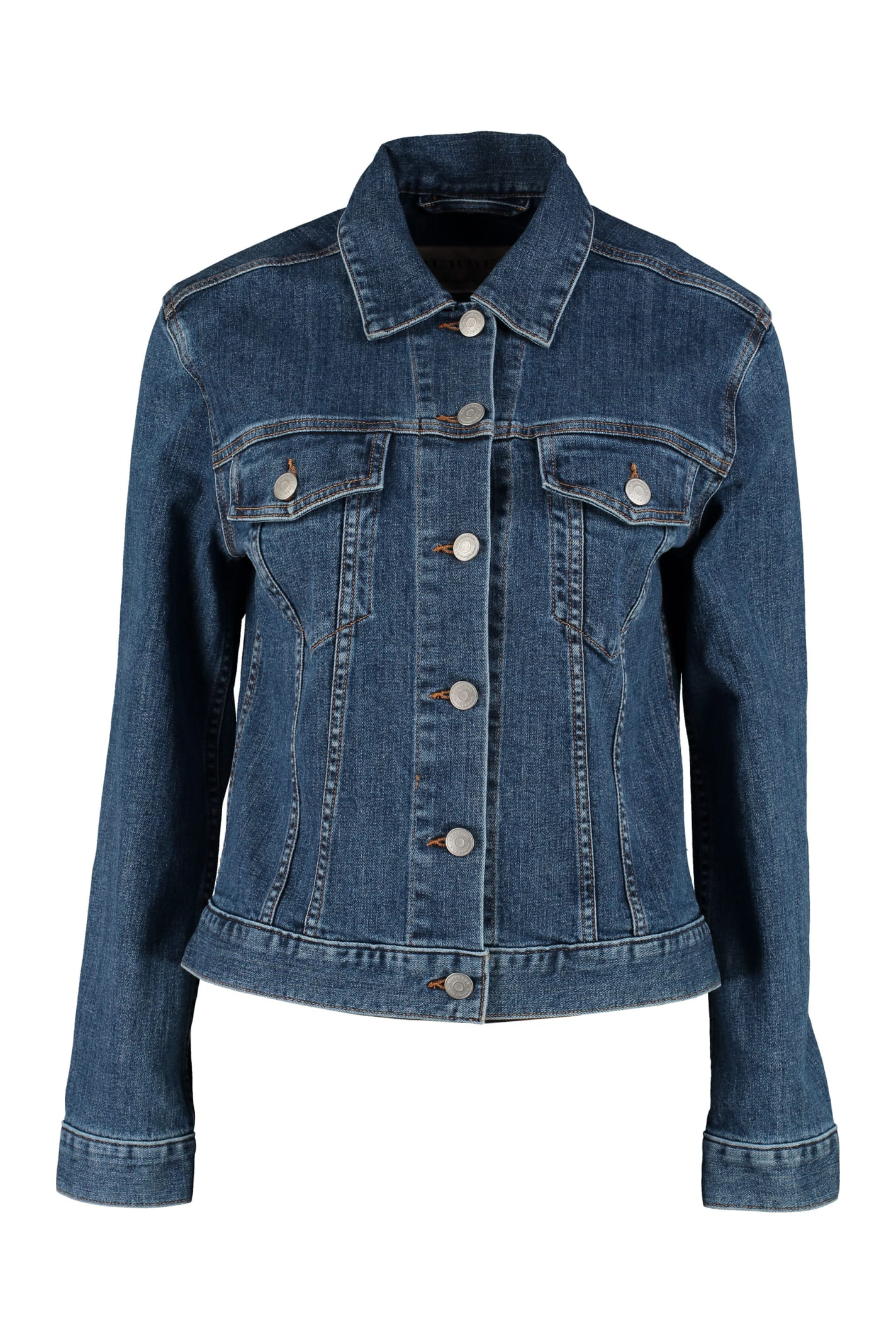 Burberry Embroidered Denim Jacket