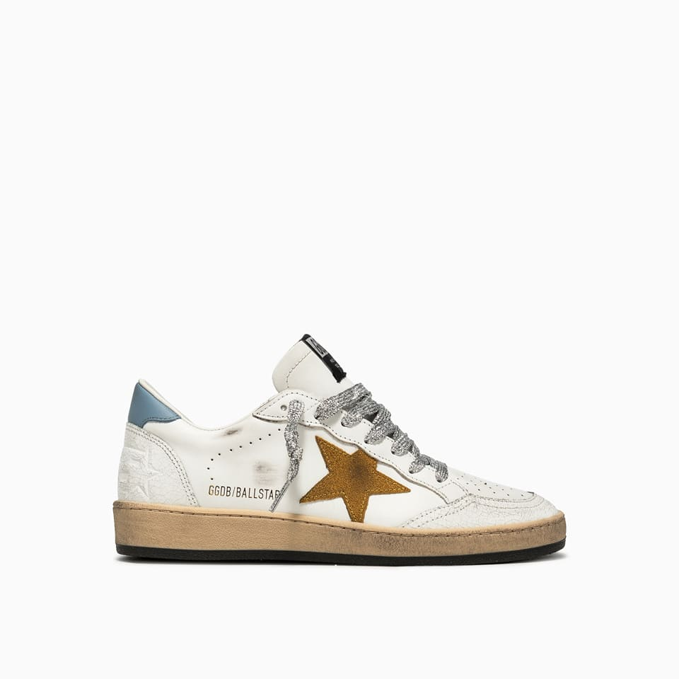 Buy Golden Goose Ball Star Sneakers Gwf00117. f001912 online, shop Golden Goose shoes with free shipping