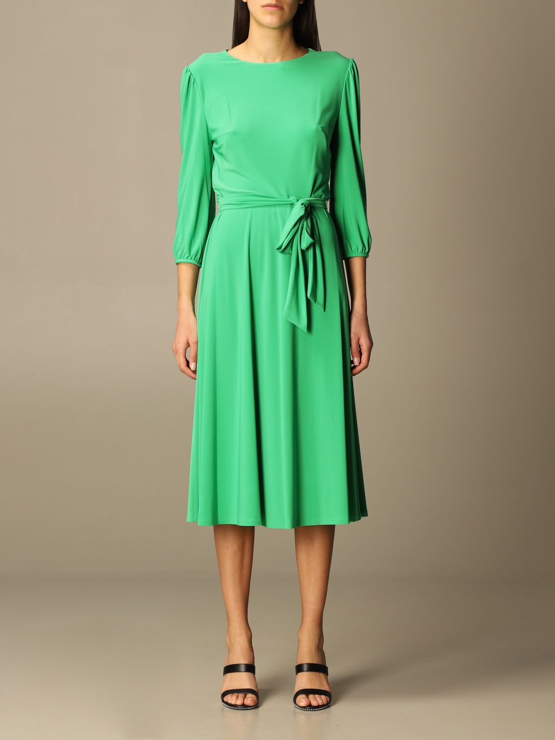 Lauren Ralph Lauren Dress Lauren Ralph Lauren Dress With Band Belt