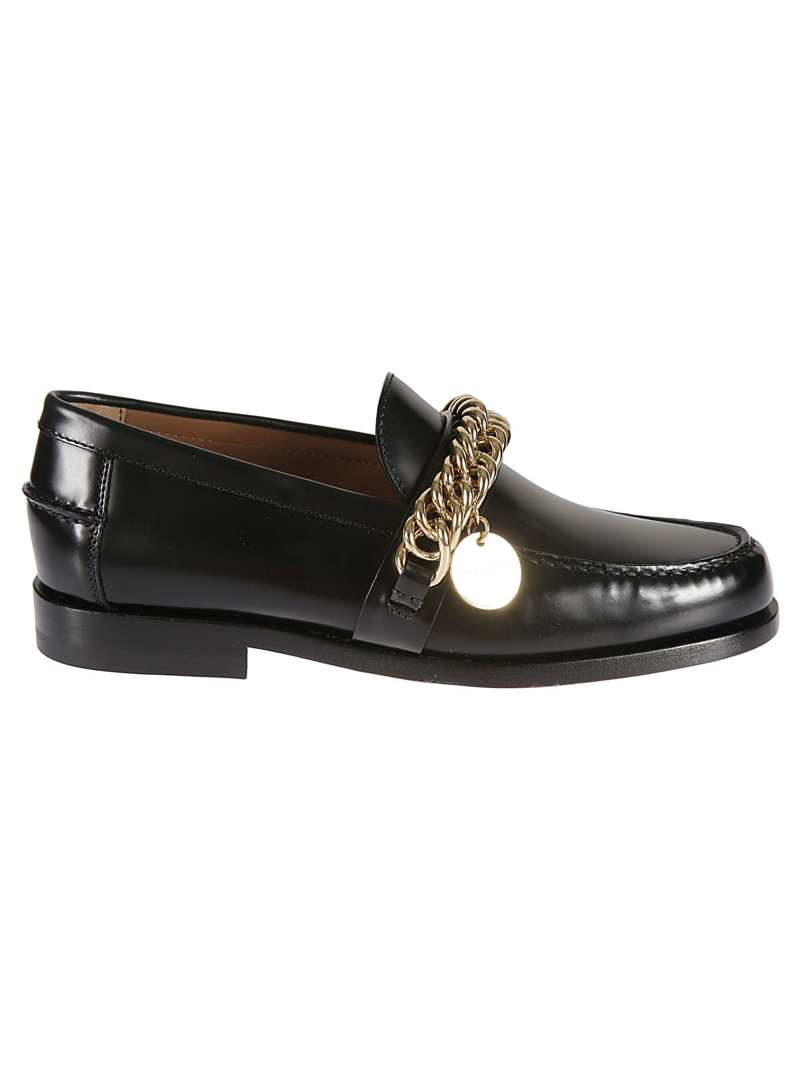 Buy Givenchy Chain Loafers online, shop Givenchy shoes with free shipping