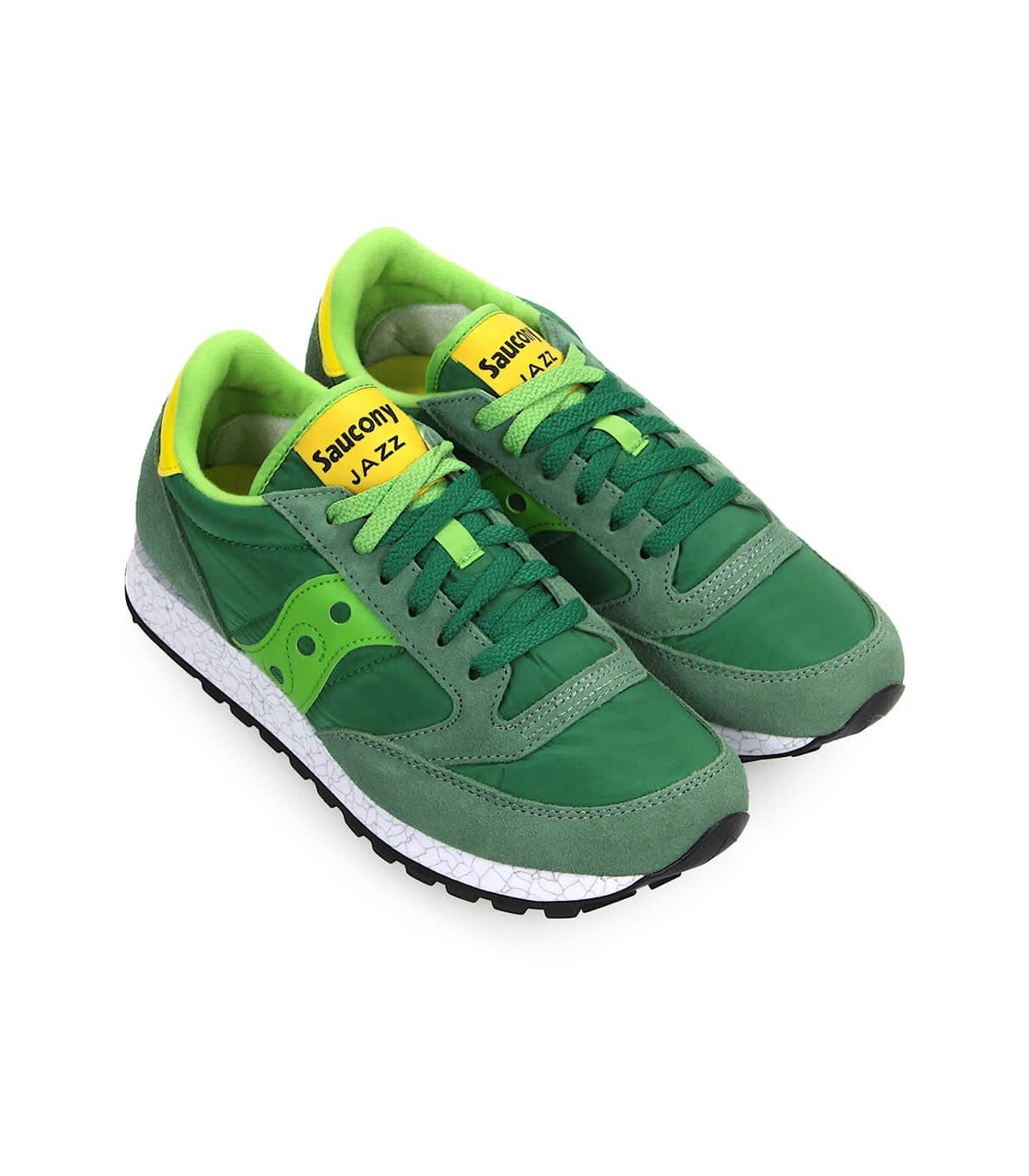 pretty nice d867b 33efb Saucony Saucony Originals Jazz Green Yellow Sneaker - Green ...
