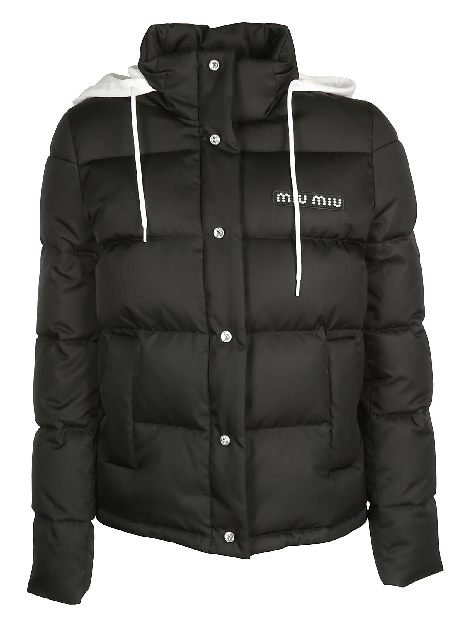 Photo of  Miu Miu Padded Down Jacket- shop Miu Miu jackets online sales