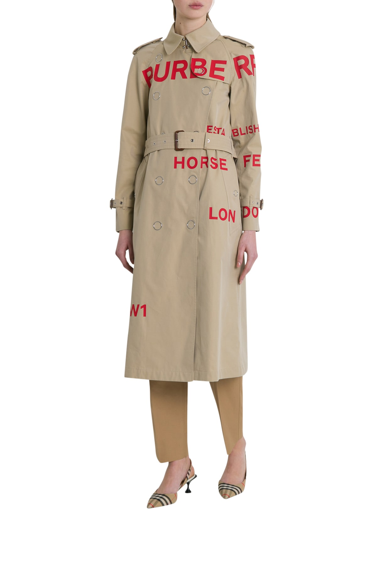 Photo of  Burberry Wharfbridge Trench Coat- shop Burberry jackets online sales