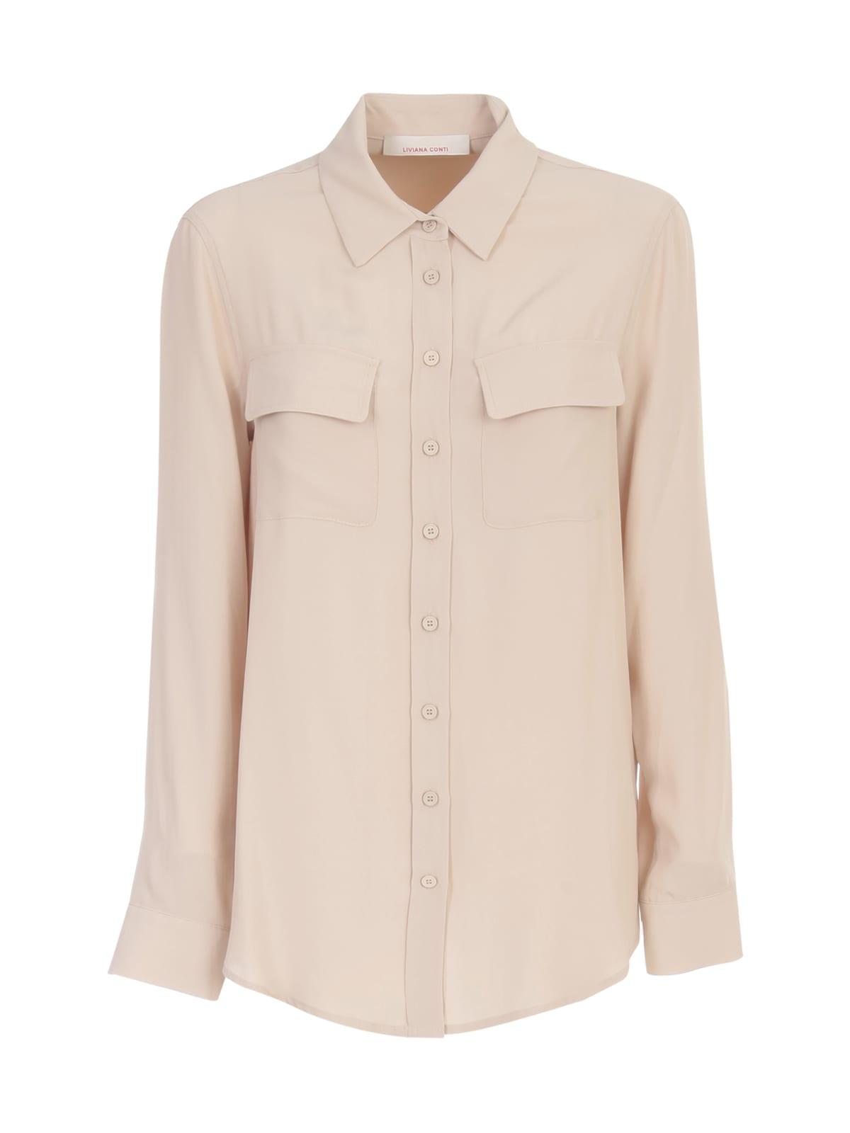 Plain Shirt W/pockets