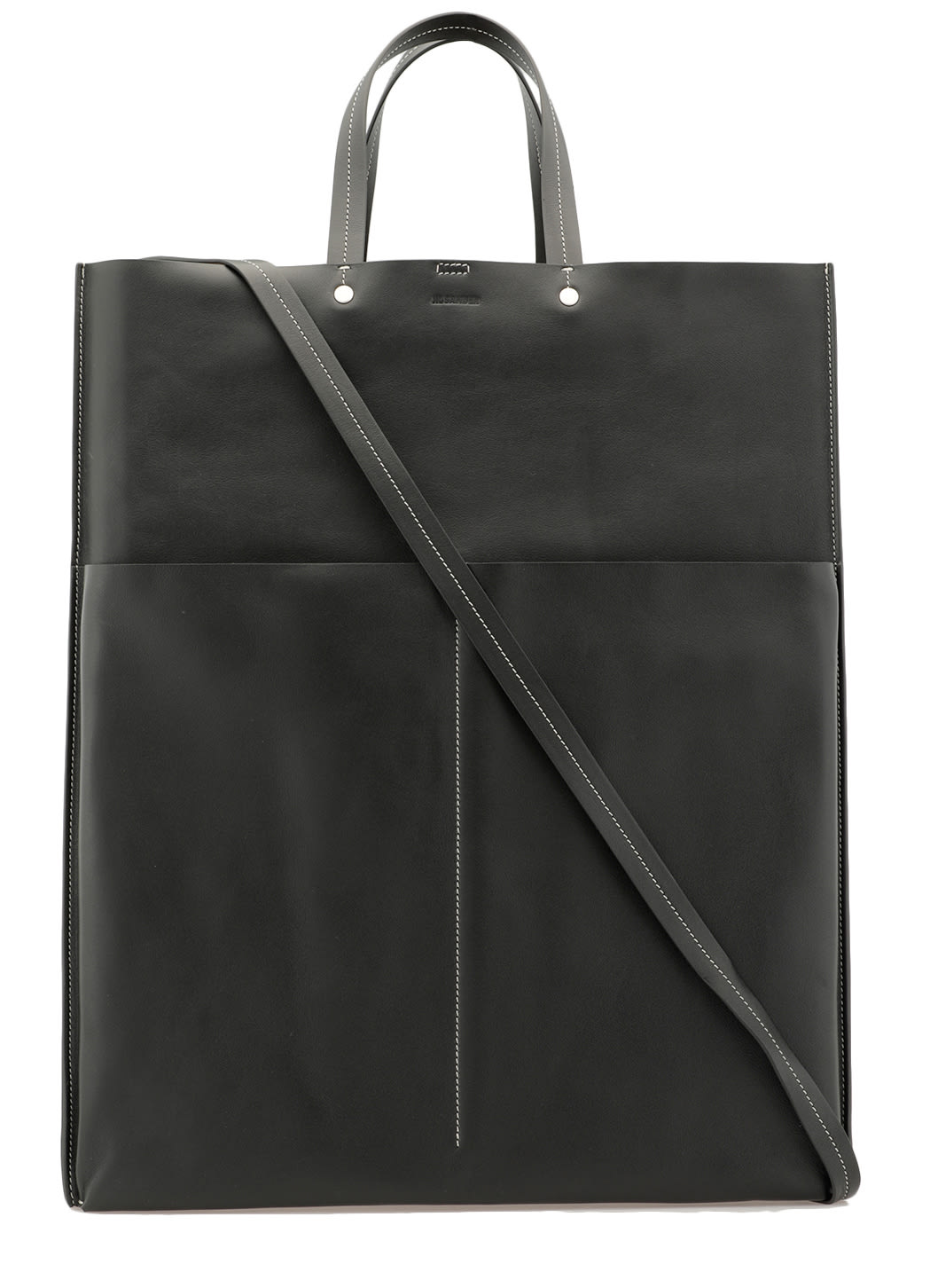 Jil Sander LEATHER TOTE BAG