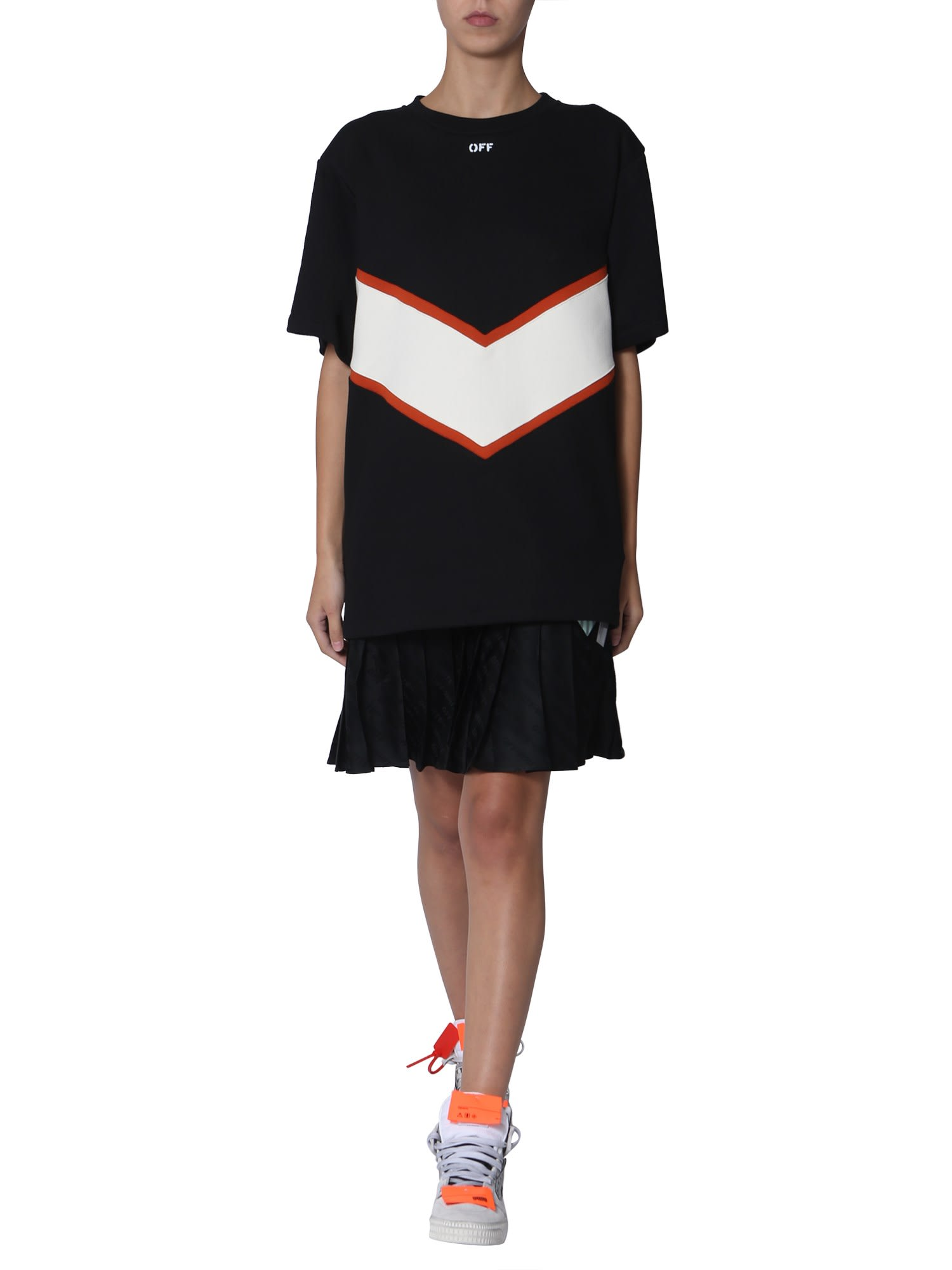 Buy Off-White Sweatshirt Dress online, shop Off-White with free shipping
