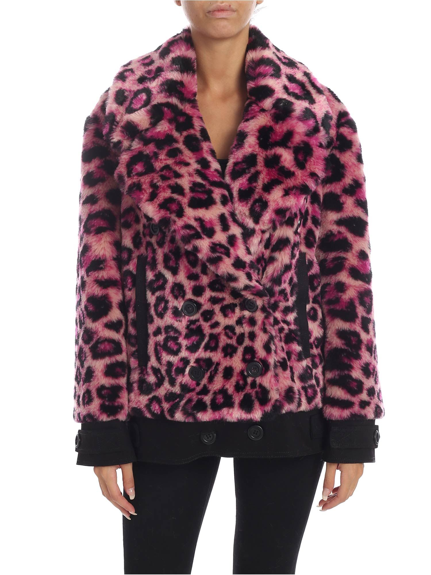 Alberta Ferretti – Animal-print Eco-fur