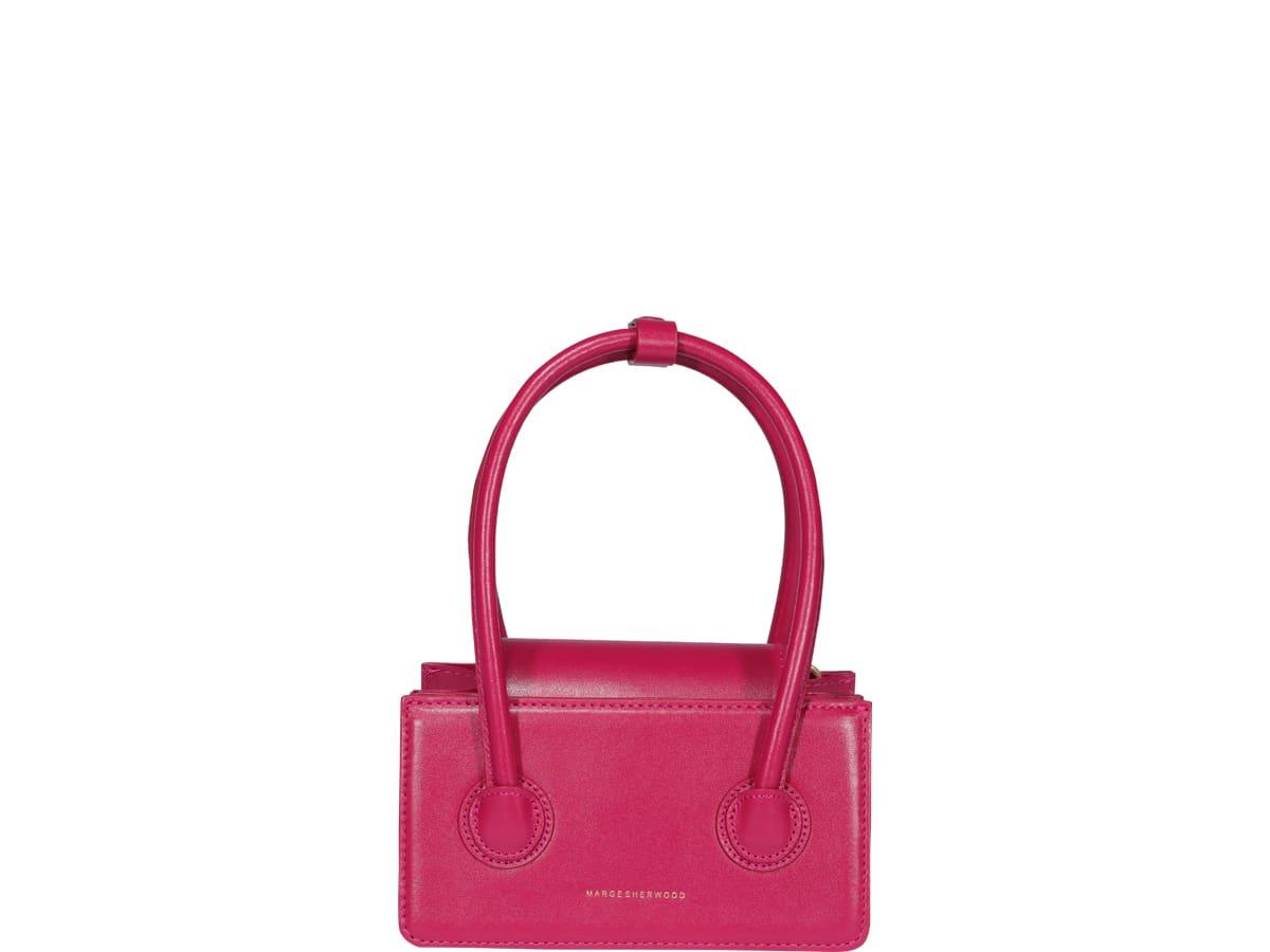 Marge Sherwood Grandma Mini Bag In Fuchsia