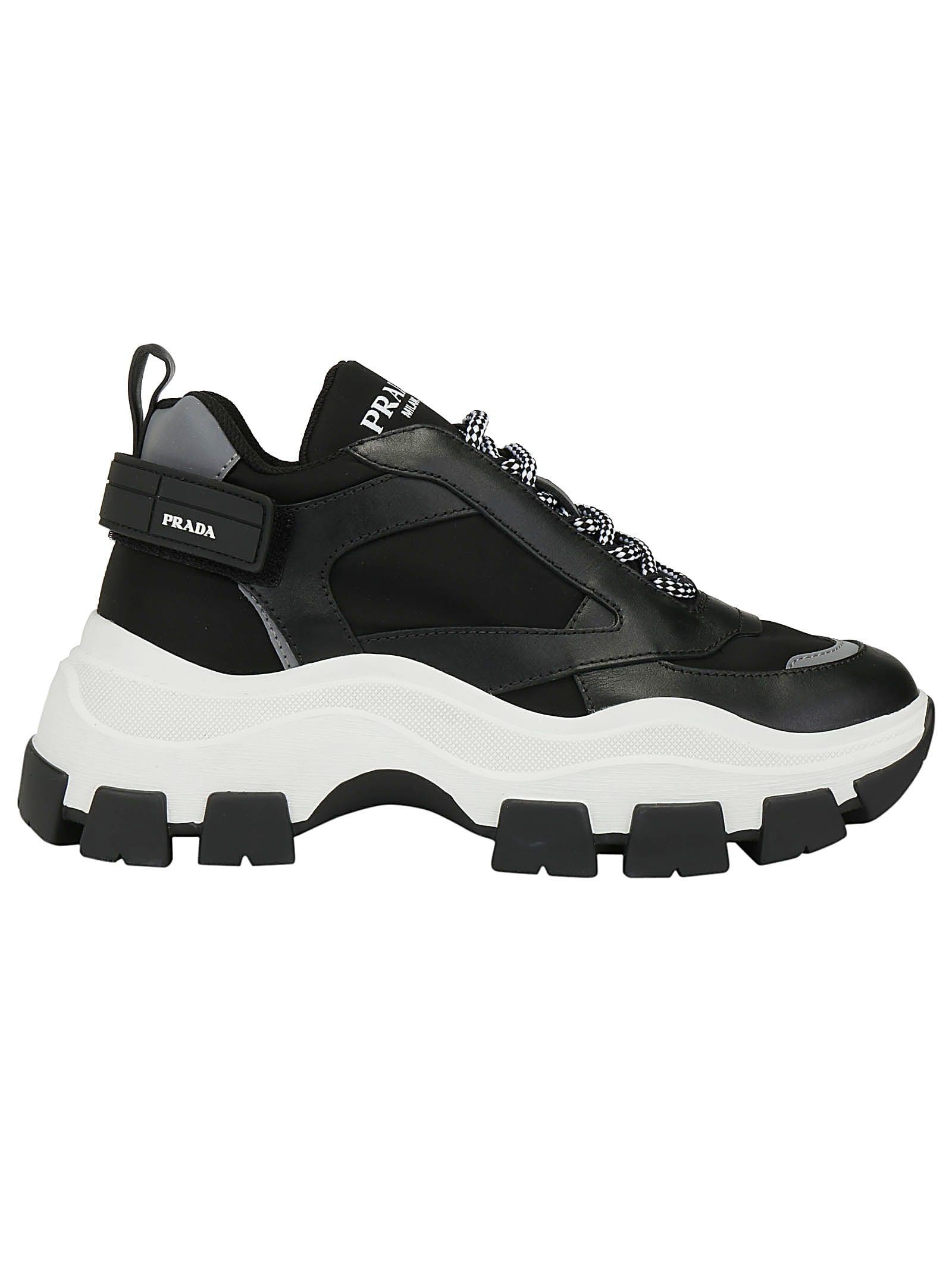Prada Prada Pegasus Sneakers - Nero