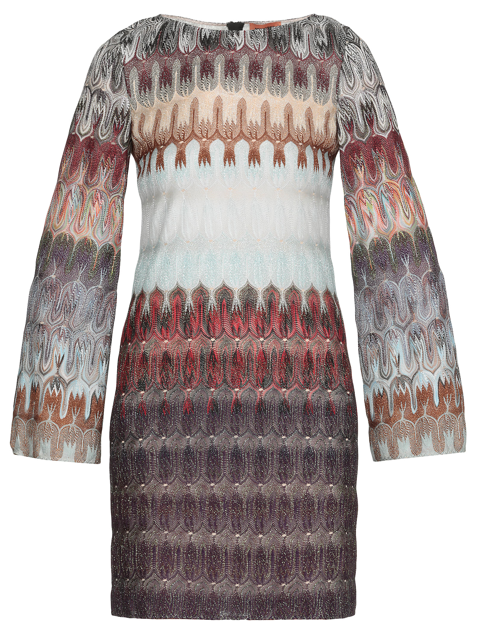 Buy Missoni Multicolor Lurex Dress online, shop Missoni with free shipping