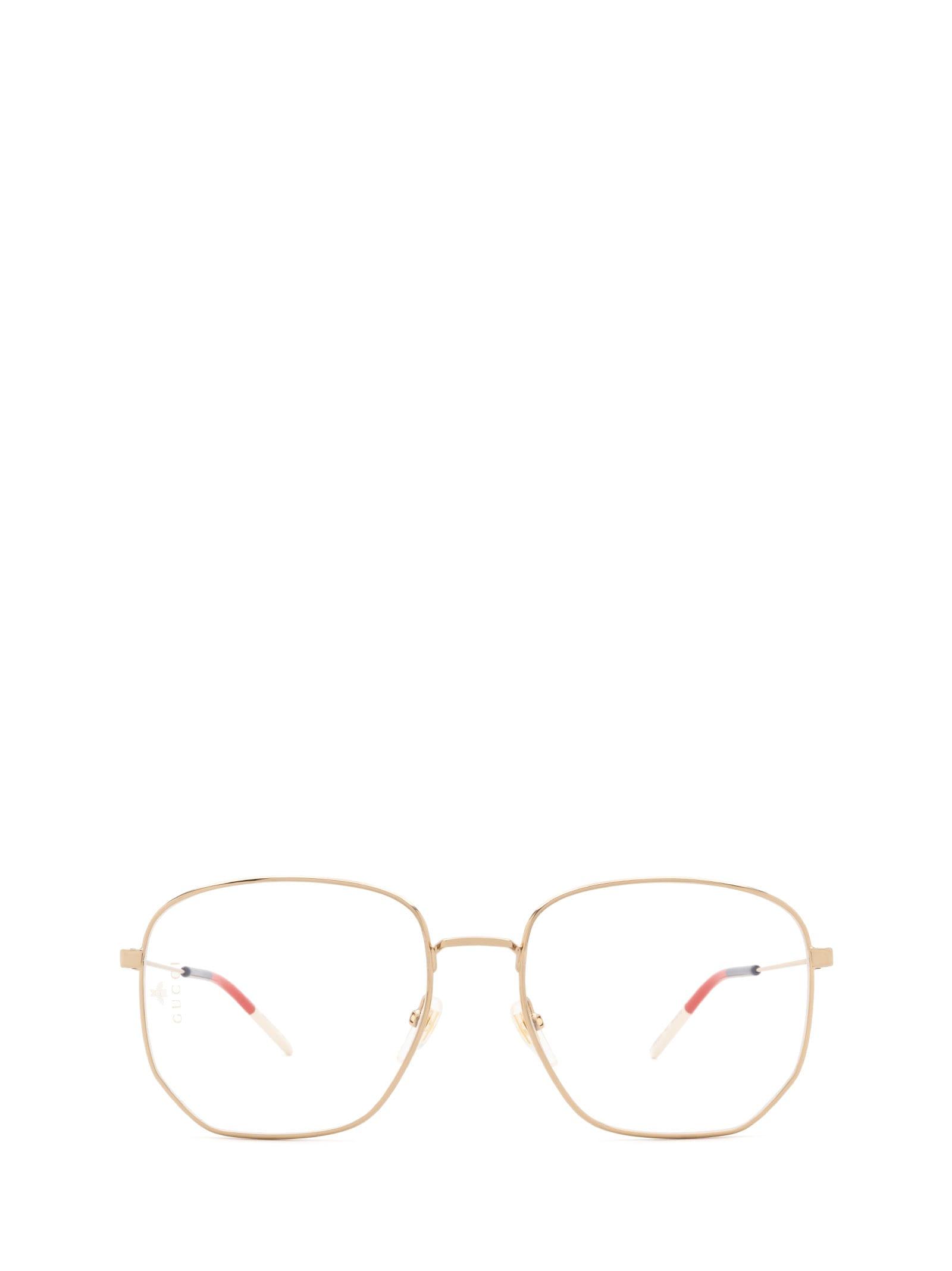 Gucci Gucci Gg0396o Gold Glasses
