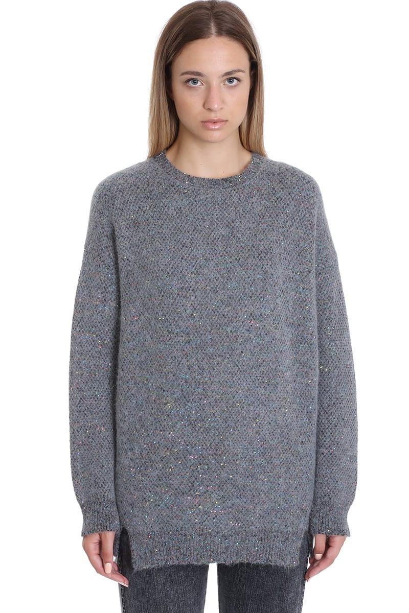 Stella McCartney Knitwear In Grey Wool