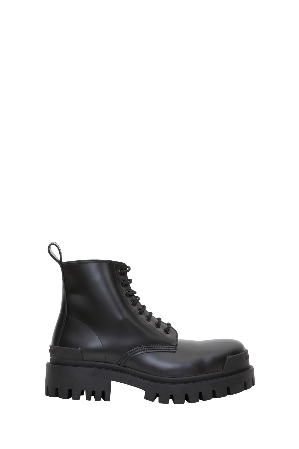 Balenciaga Boots LEATHER BOOTS RUBBER SOLE