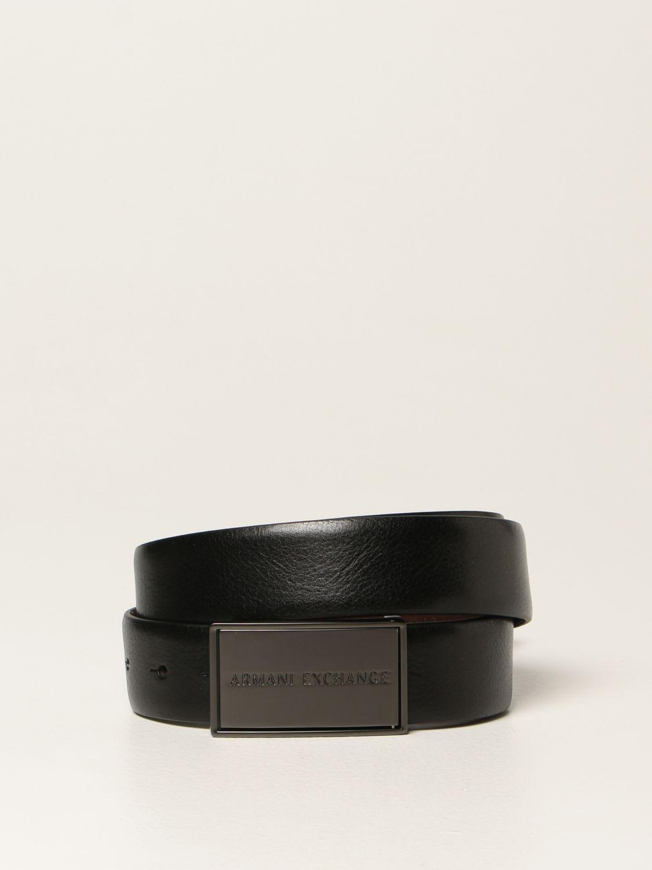 Armani Exchange Belt Armani Exchange Reversible Leather Belt