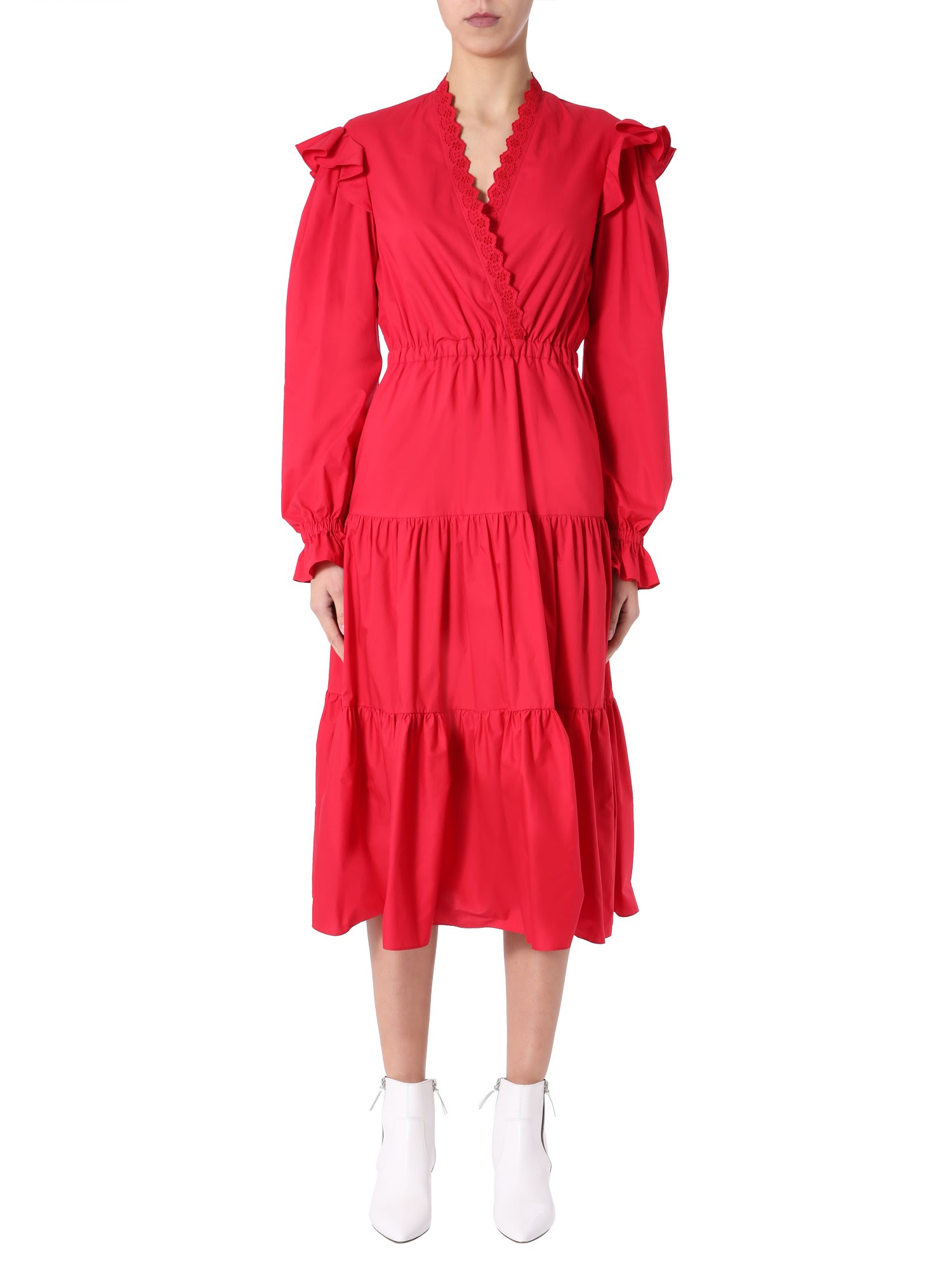 Buy Philosophy di Lorenzo Serafini Dress With Frills online, shop Philosophy di Lorenzo Serafini with free shipping
