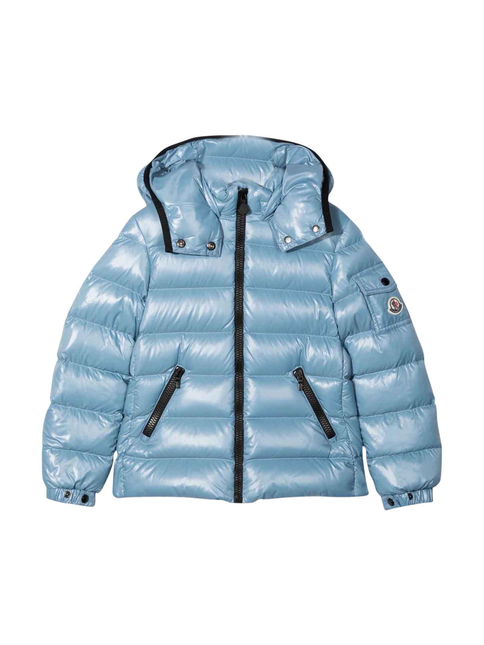 Moncler Moncler Enfant Unisex Light Blue Down Jacket
