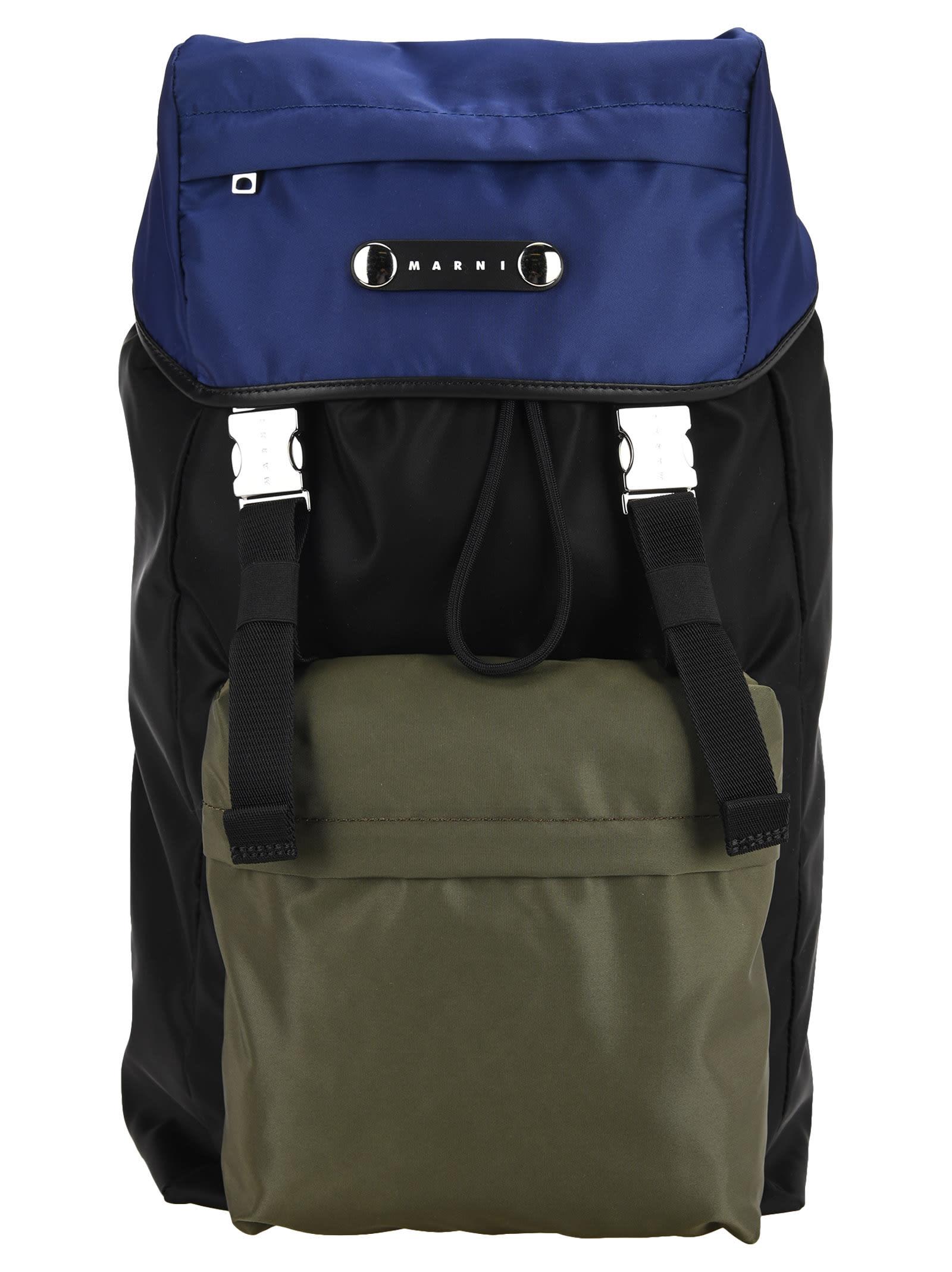 Marni Three-tone Backpack