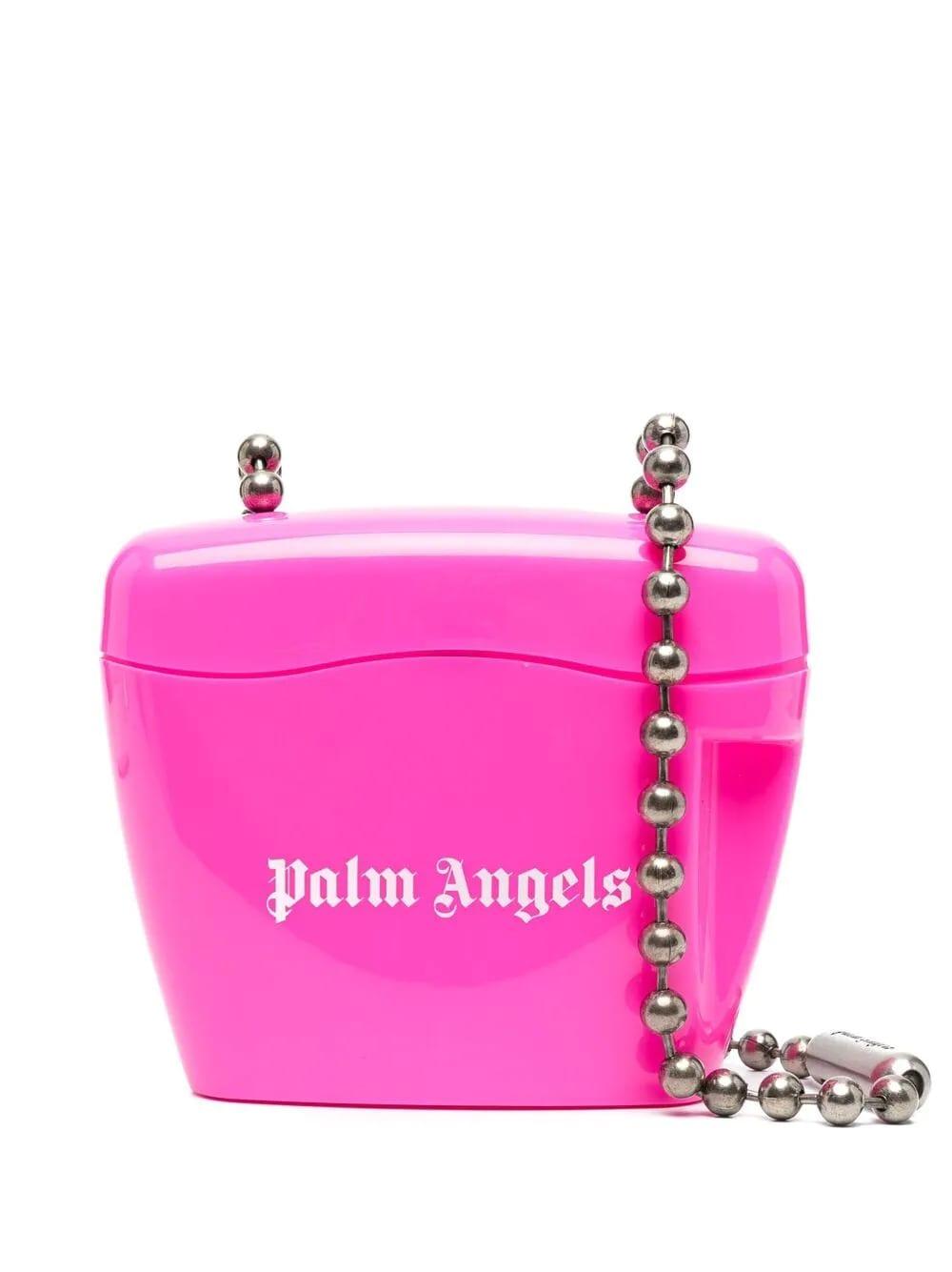 Palm Angels Fuchsia Padlock Mini Bag