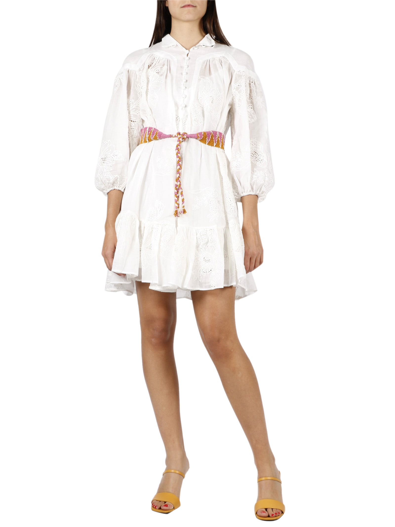 Buy Riders Panelled Mini Dress online, shop Zimmermann with free shipping