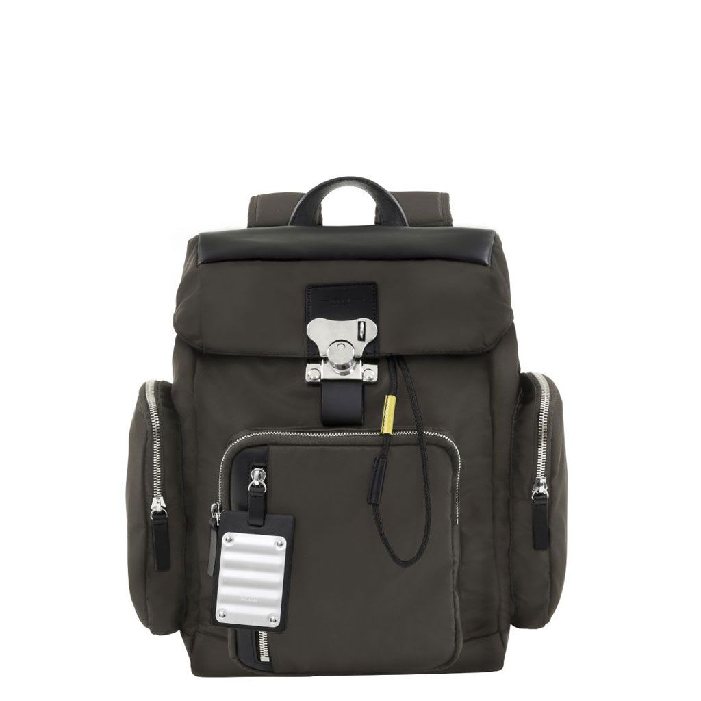 Nylon Bank On The Road-butterfly Pc Backpack S