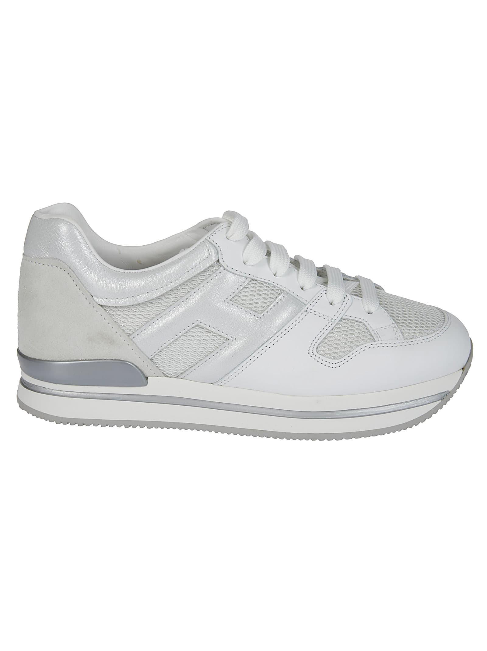 Hogan White Lather Sneakers