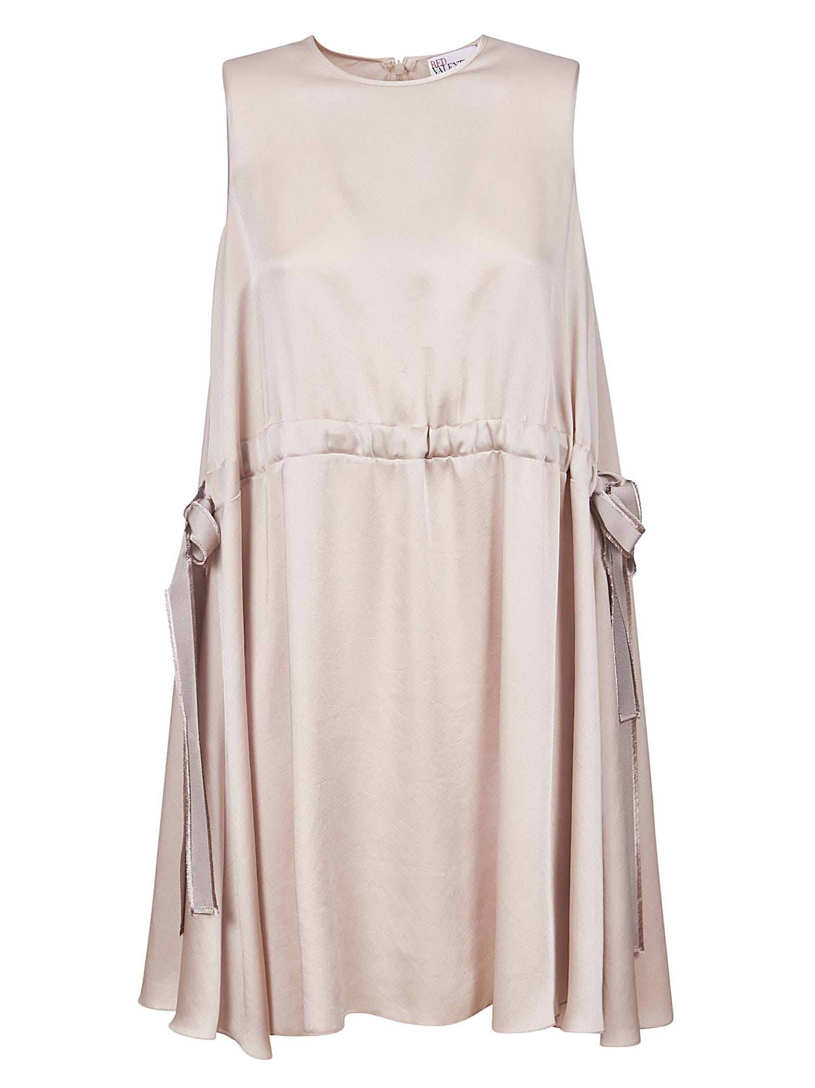 Buy RED Valentino Side Bow Detail Sleeveless Dress online, shop RED Valentino with free shipping