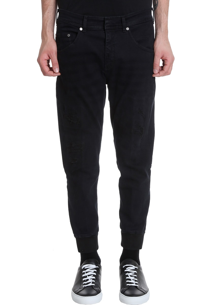 Neil Barrett Jeans In Black Denim