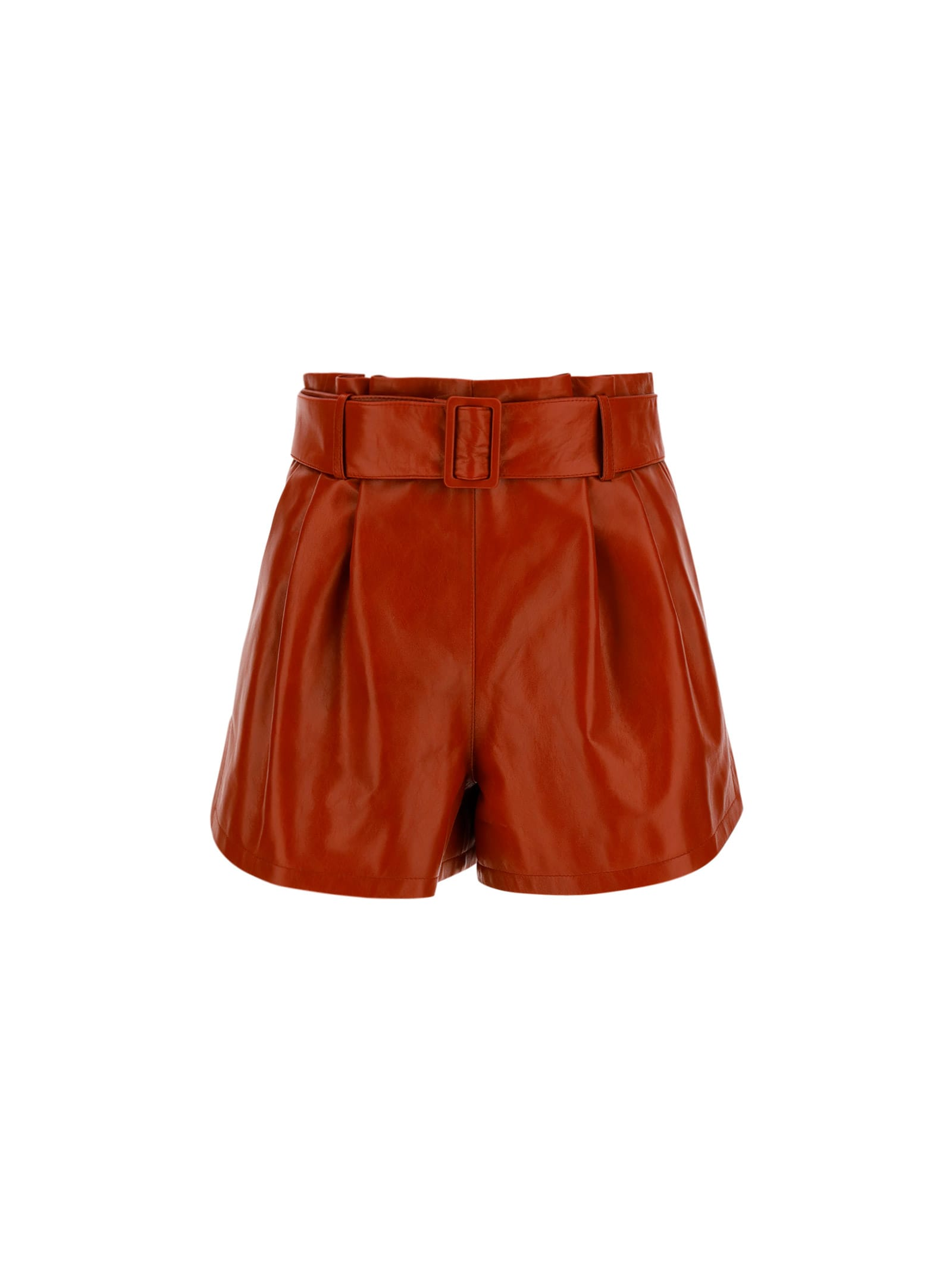 Drome LEATHER SHORTS