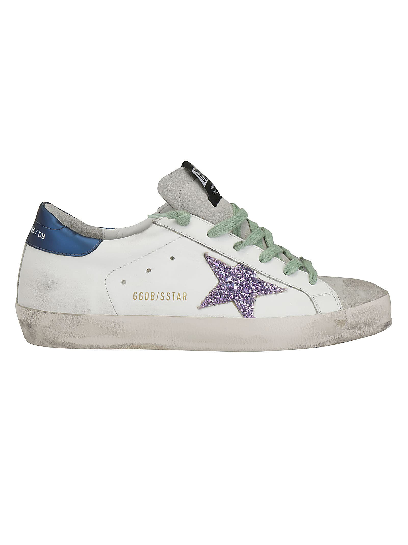 a8c40198ce6 Golden Goose Golden Goose Superstar Sneakers - White/blue/pink ...