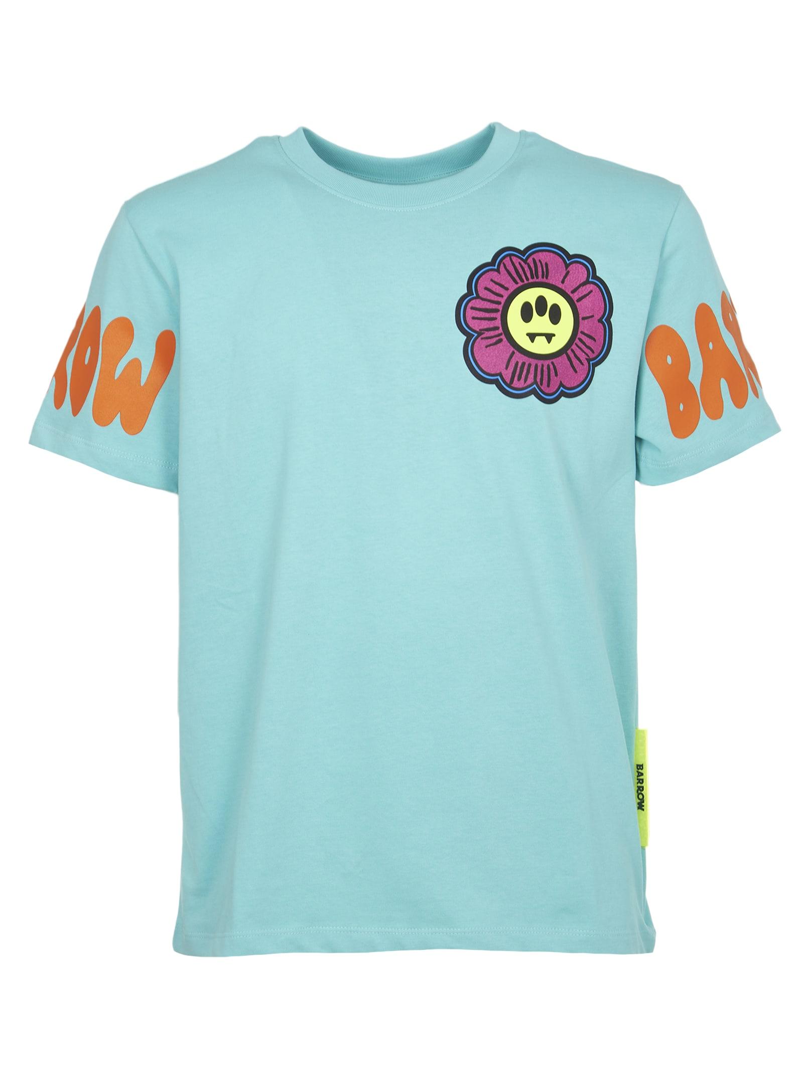 Barrow T-shirts TIFFANY DAISY PRINT T-SHIRT