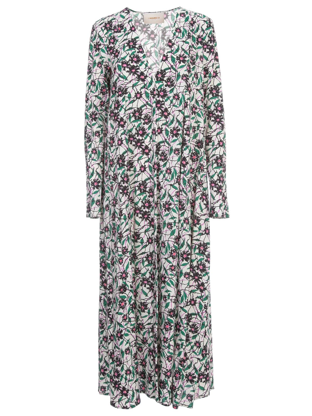 Buy La DoubleJ Fantasy Trapezio Dress L/s V Neck online, shop La DoubleJ with free shipping