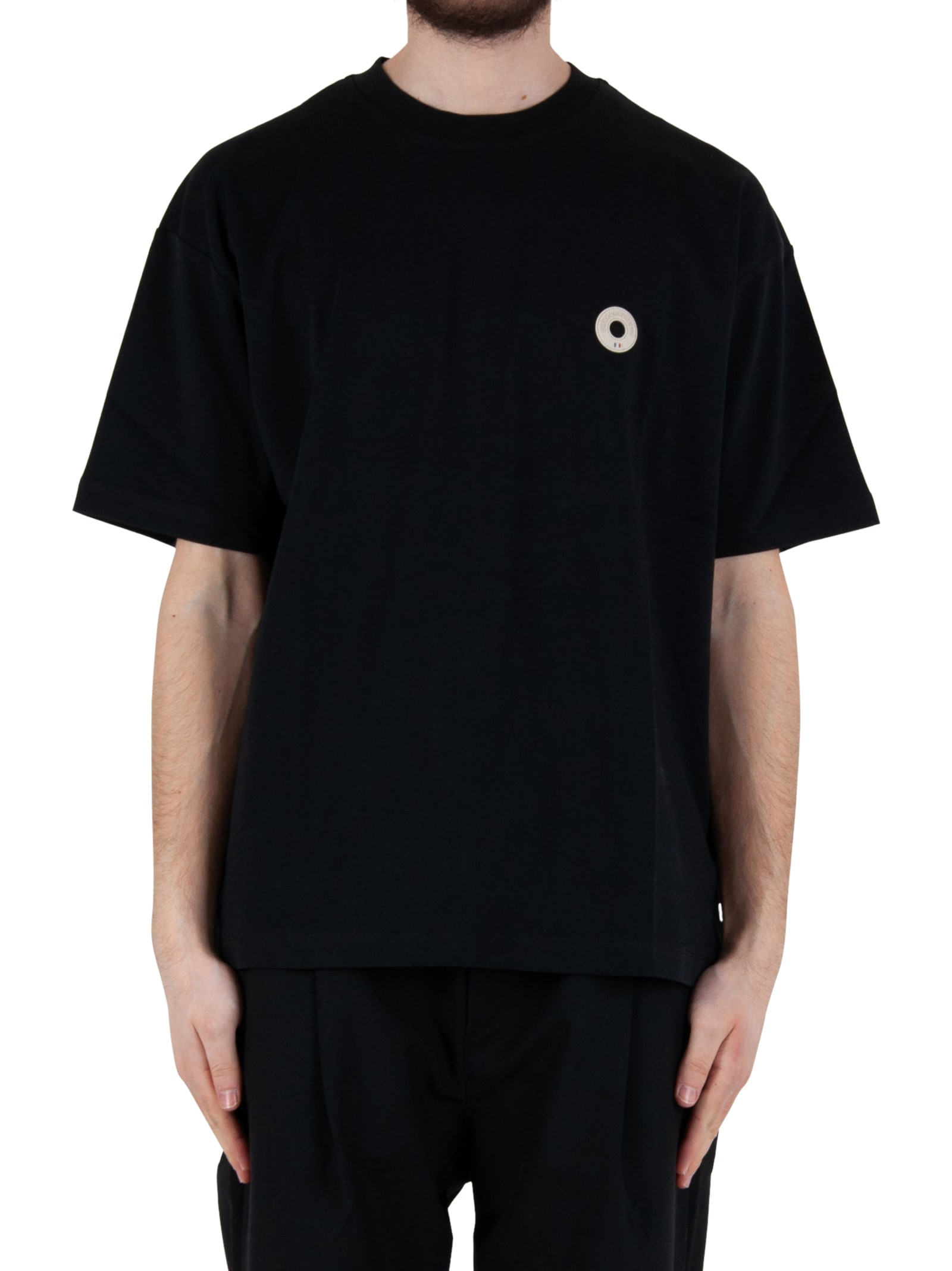 Drôle De Monsieur BACKPRINT NFPM TEE - BLACK