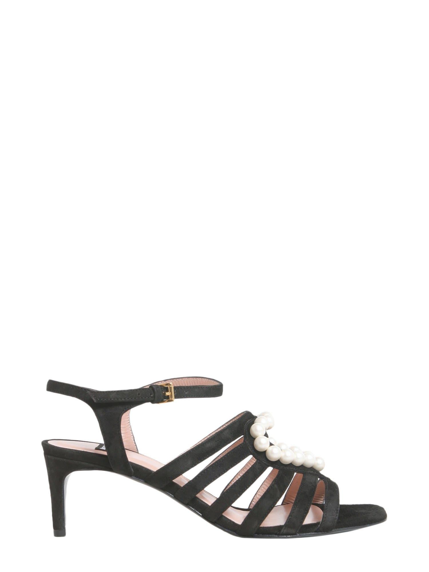 Boutique Moschino Suede Sandals