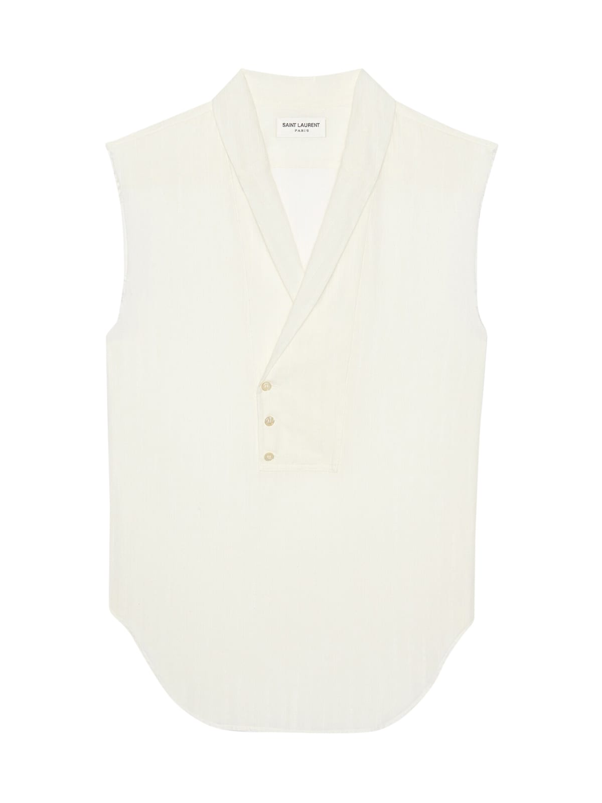 Saint Laurent SLEEVELESS SHIRT