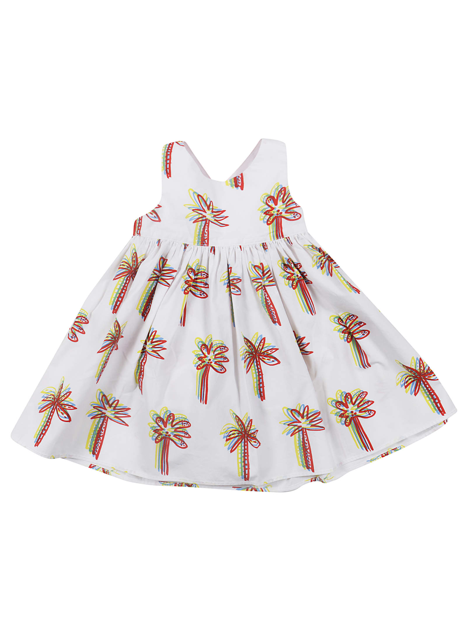 Stella McCartney Kids Graphic Palm Three Dress