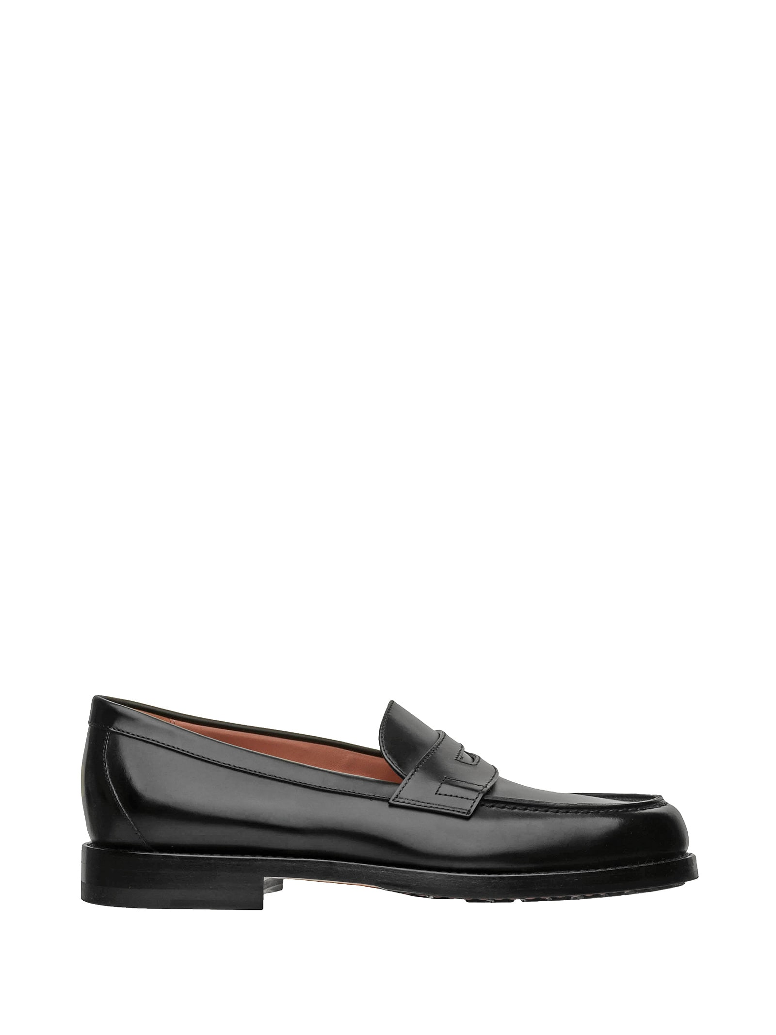 Santoni 1^ LINEA LEATHER LOAFER