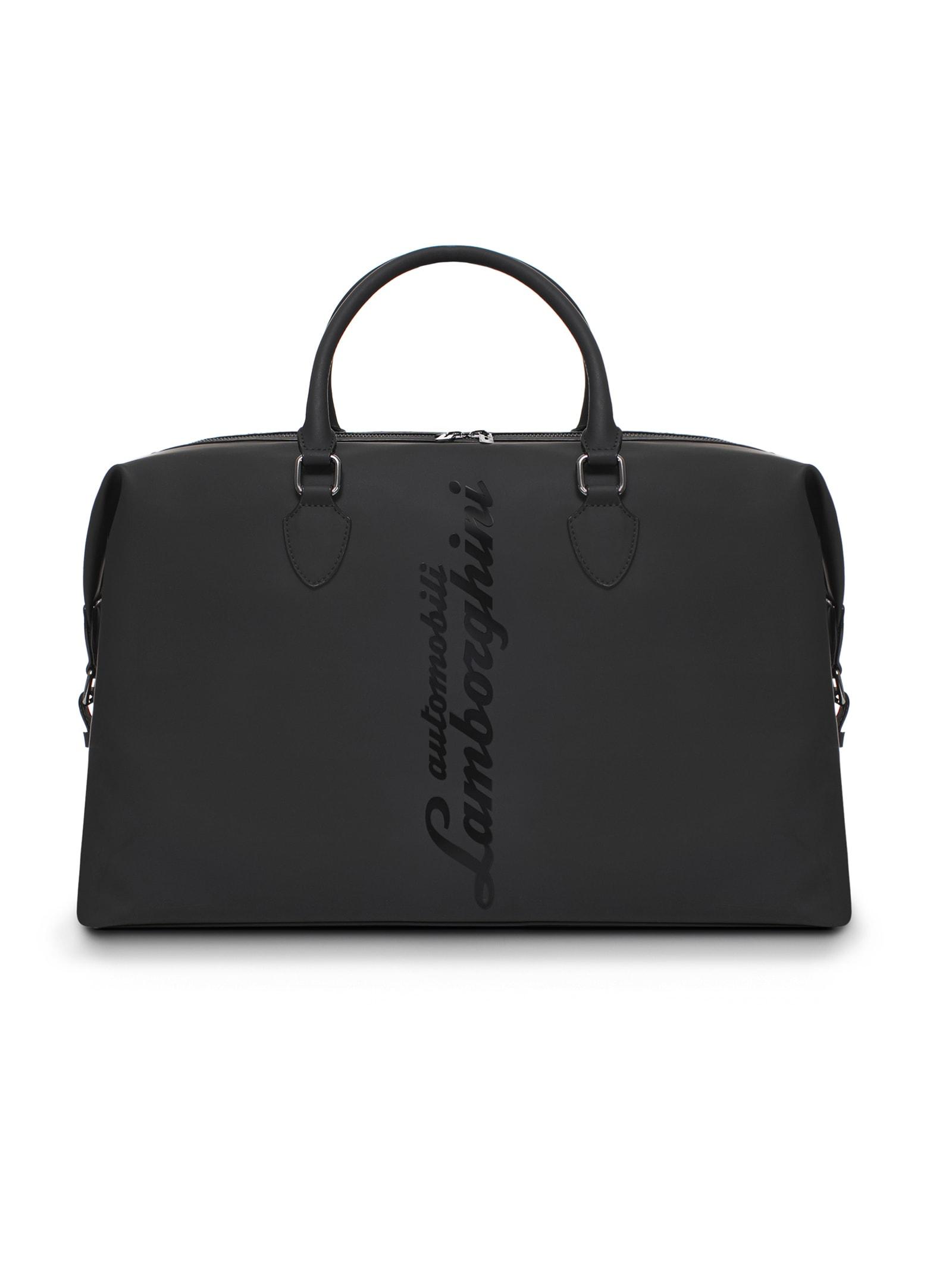 Glossy Logo Weekender Bag