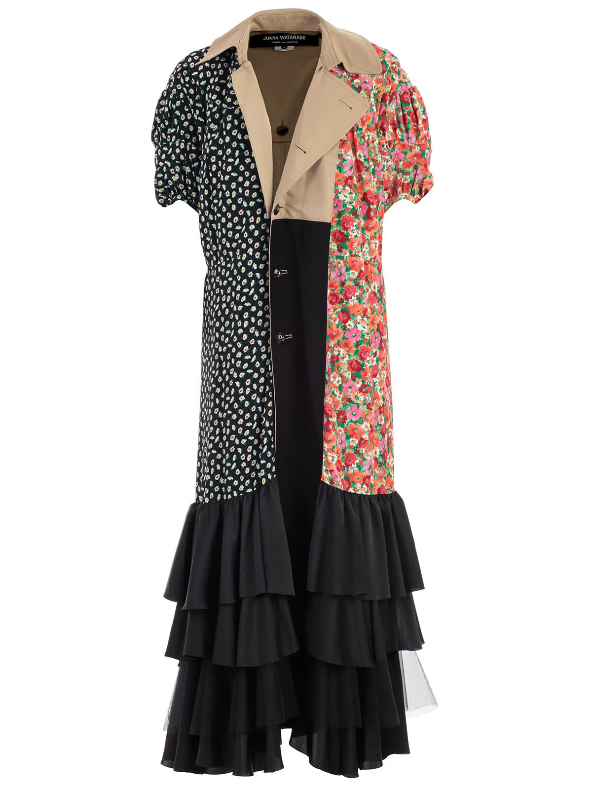 Photo of  Junya Watanabe Comme Des Garçons Dress S & s W & ruffle On Bottom- shop Junya Watanabe Comme Des Garçons  online sales