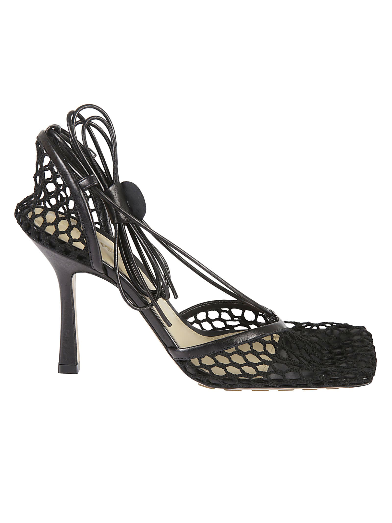 Bottega Veneta STRETCH WEB SANDALS
