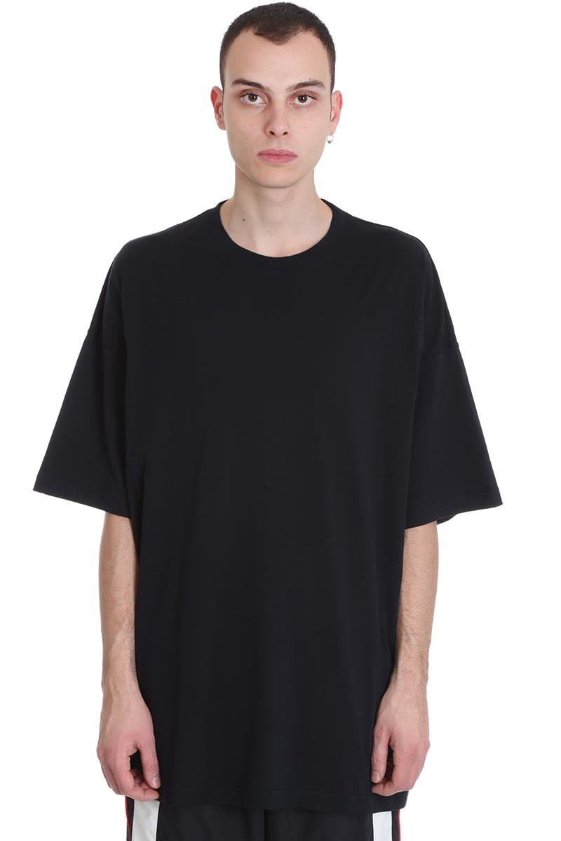 VETEMENTS T-shirt In Black Cotton