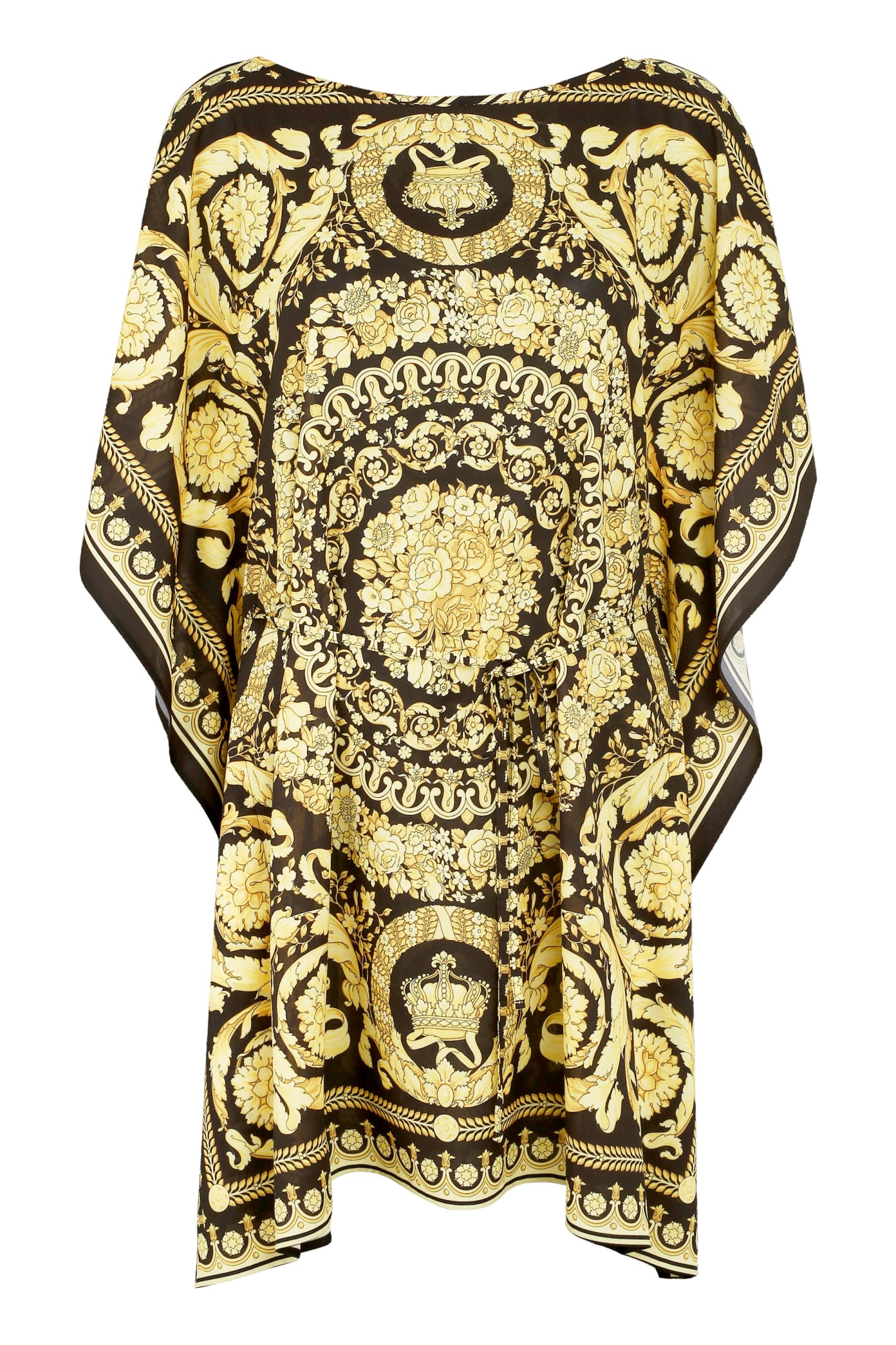 Buy Versace Printed Kaftan Dress online, shop Versace with free shipping