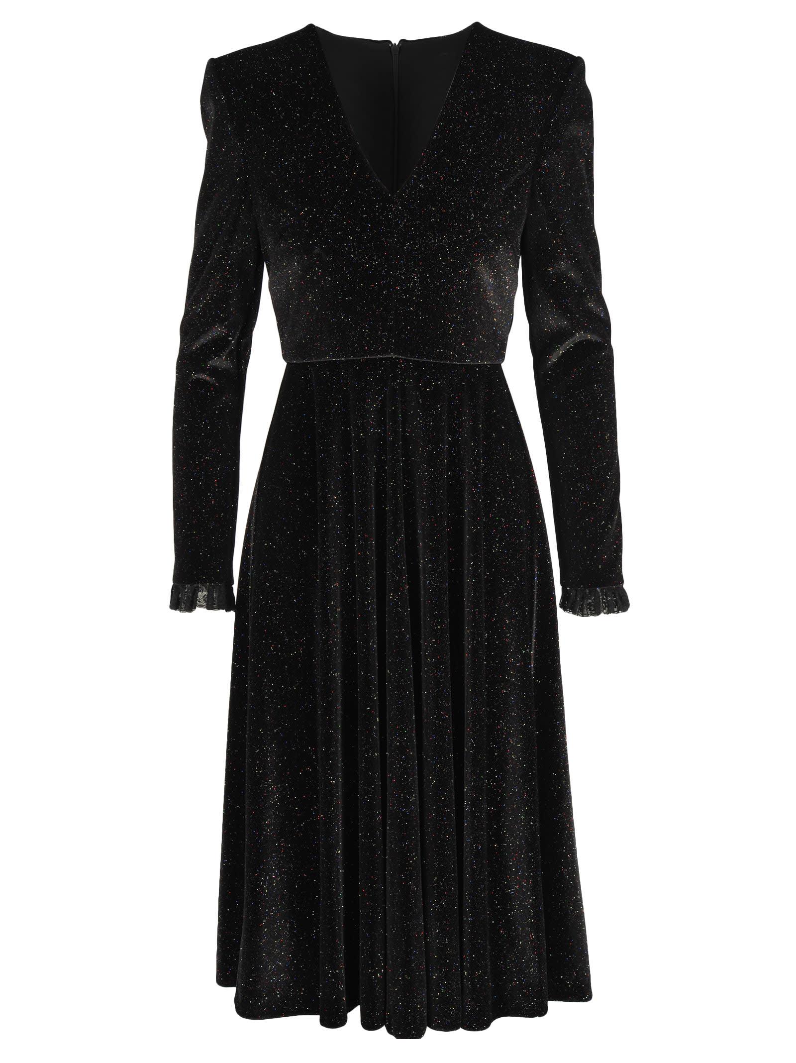 Buy Philosophy Velvet Glitter Dress online, shop Philosophy di Lorenzo Serafini with free shipping