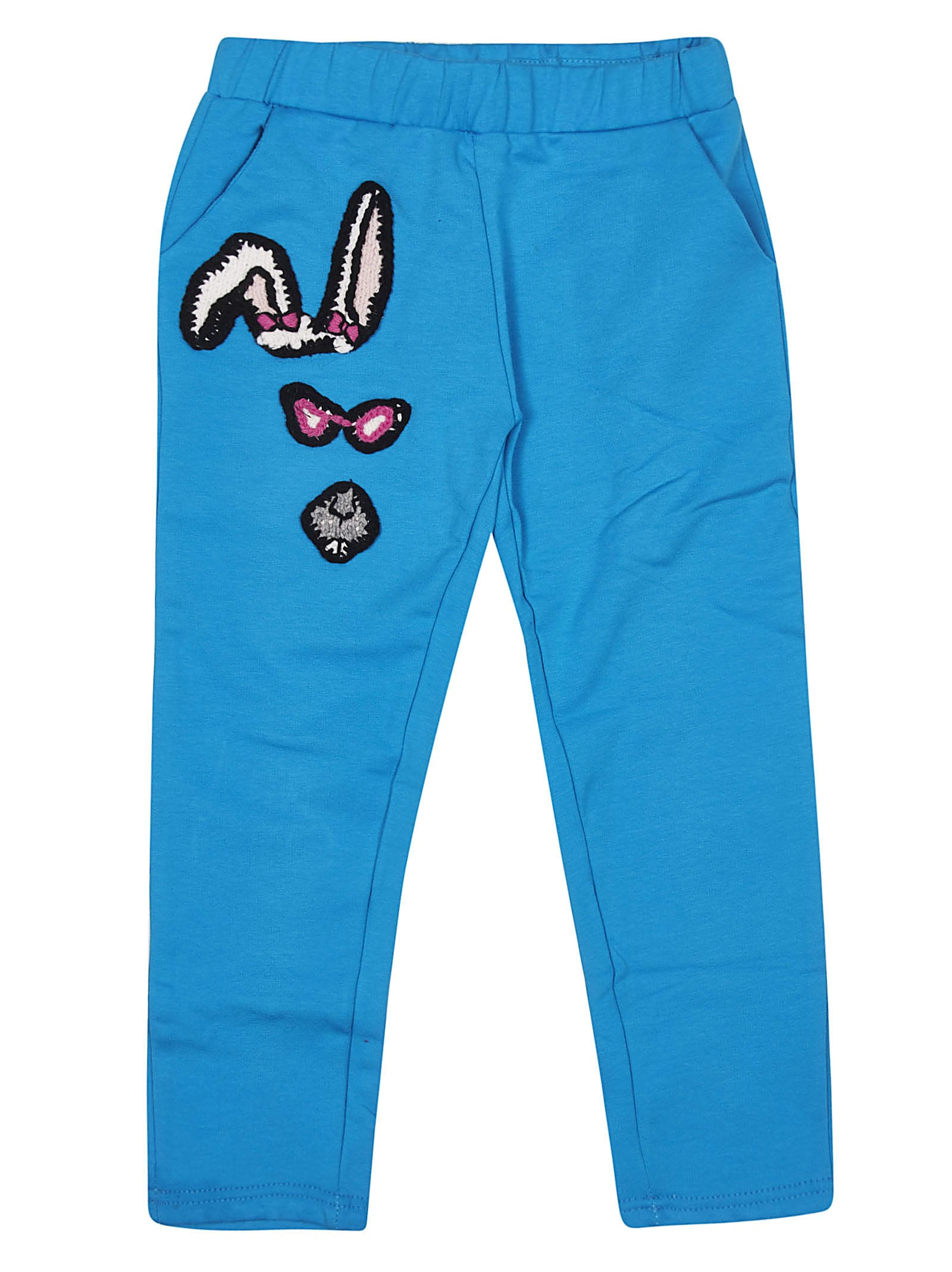 Embroidered Detail Tracksuit Pants