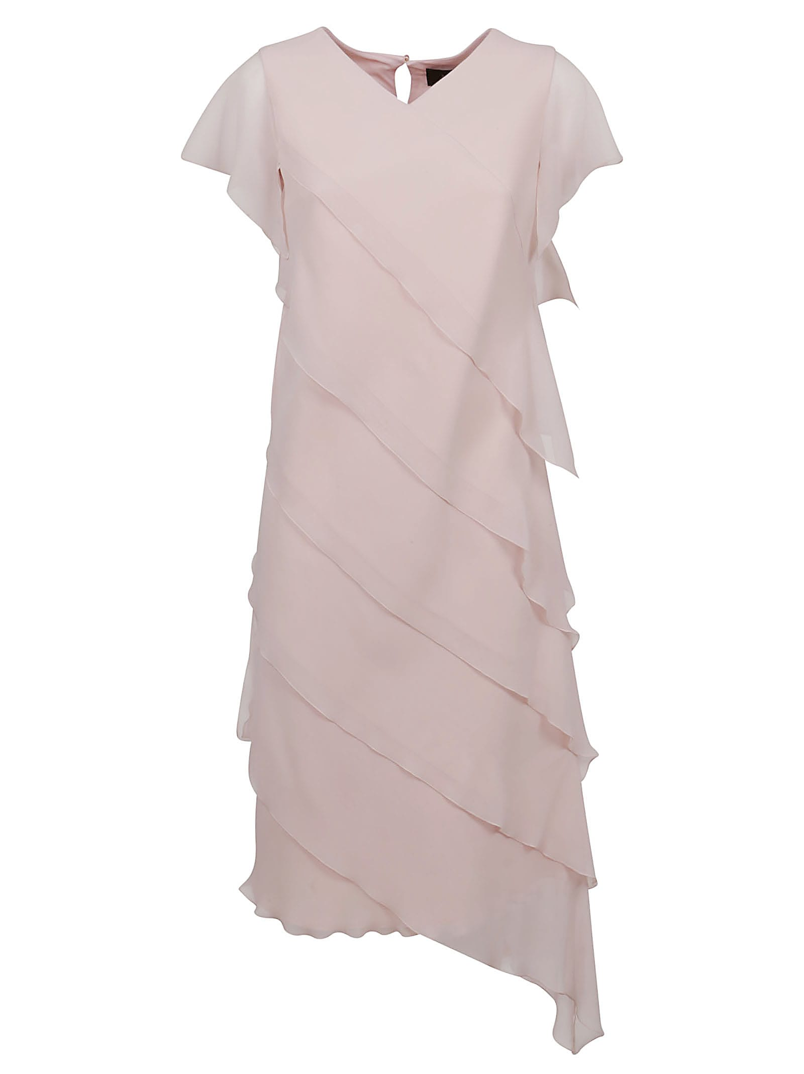 Buy Pink Technical Fabric Dress online, shop Max Mara with free shipping