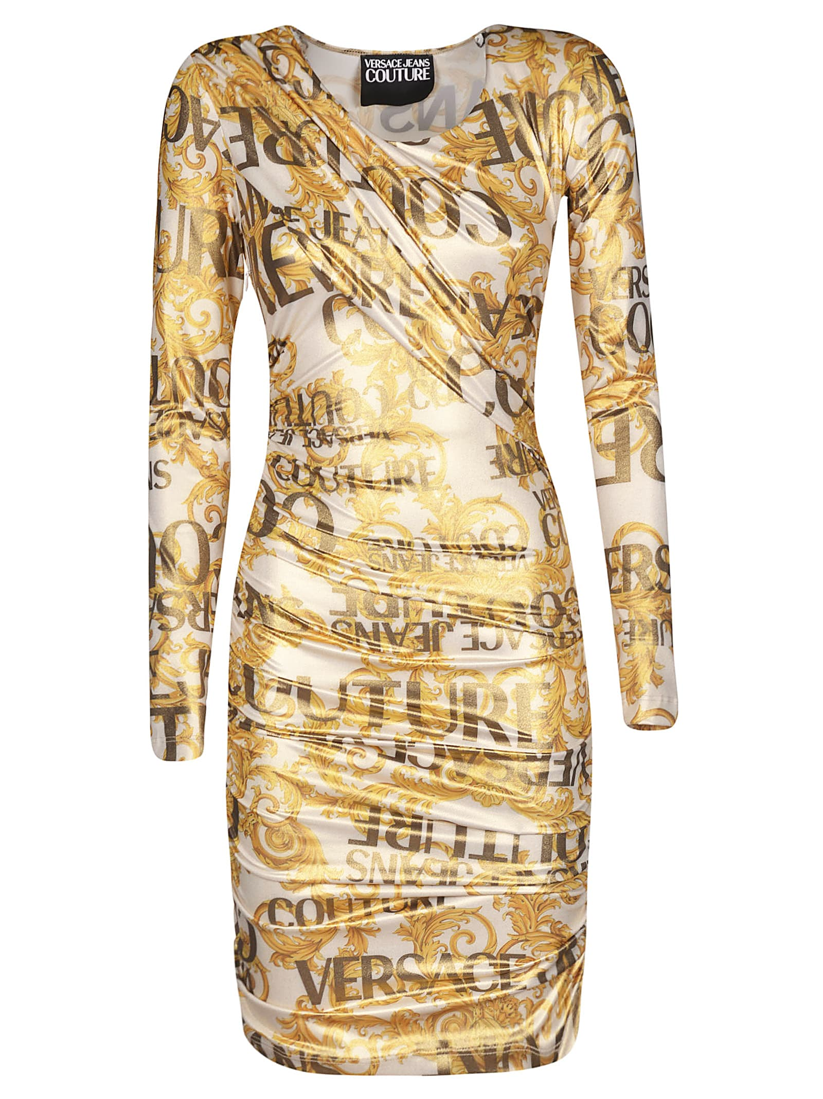 Versace Jeans Couture Sprouse Baroque Dress