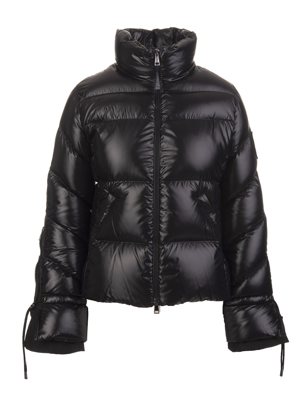 Black Woman Short Down Jacket