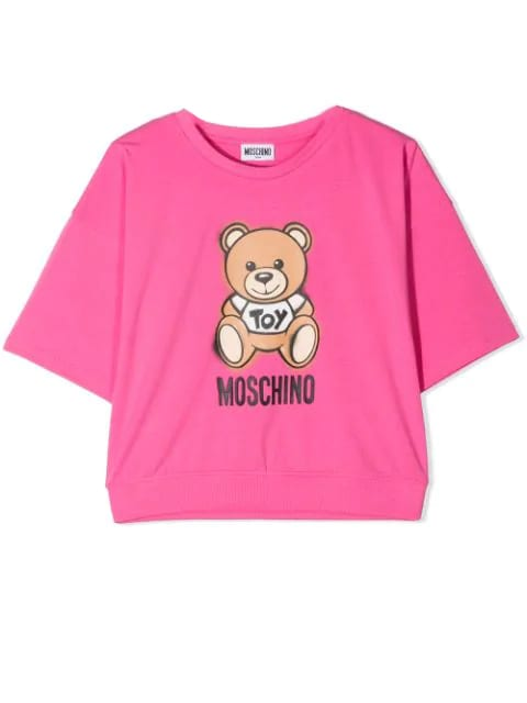 Moschino T-SHIRT WITH TEDDY BEAR PRINT