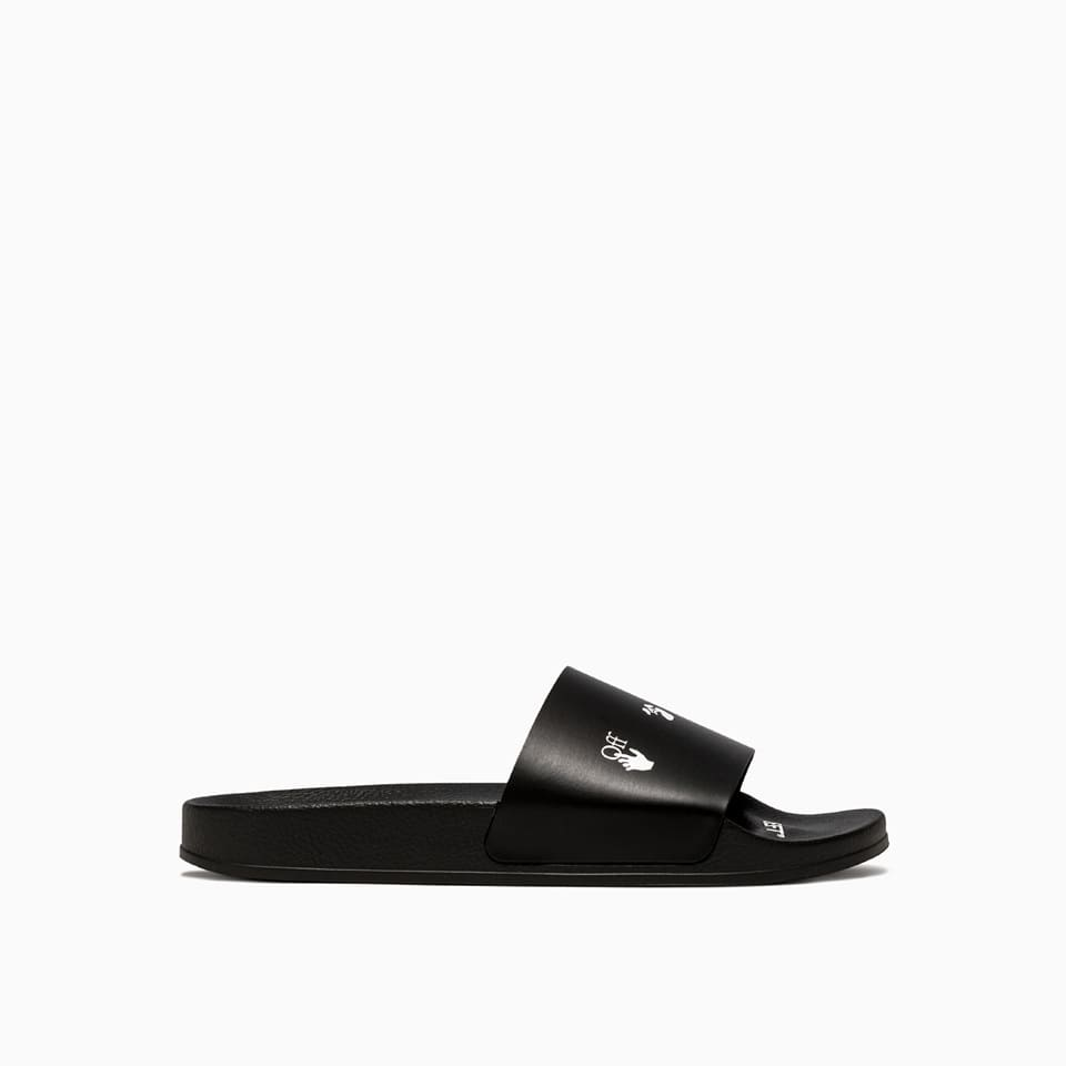 Off-White OFF-WHITE LOGO SLIDERS OMIA088E20FAB002