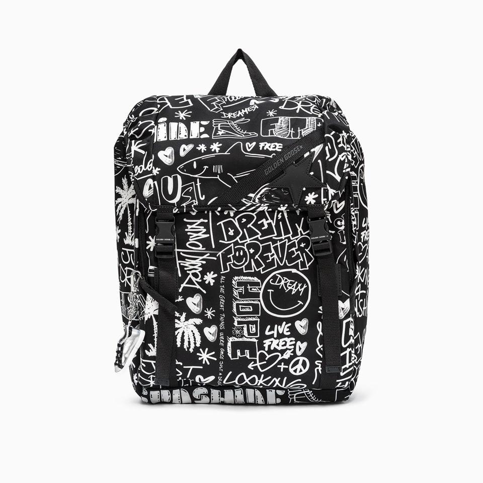 Golden Goose Backpacks DELUXE BRAND JOURNEY BACKPACK GMA00147. A000234